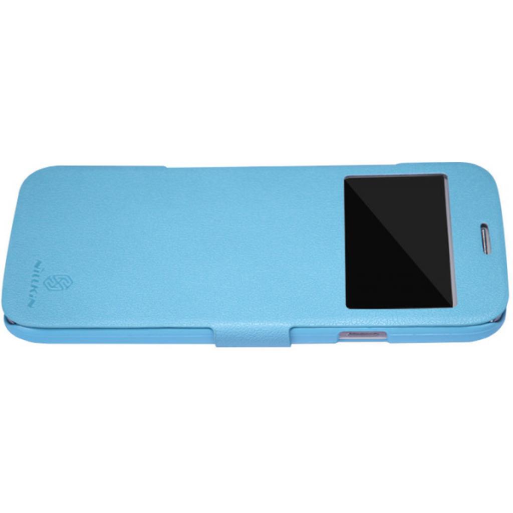 Чехол для моб. телефона NILLKIN для Samsung I9152 /Fresh/ Leather/Blue (6076969) изображение 2