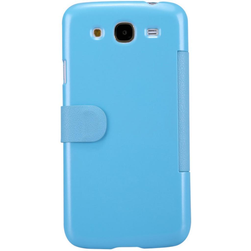 Чехол для моб. телефона NILLKIN для Samsung I9152 /Fresh/ Leather/Blue (6076969) изображение 3