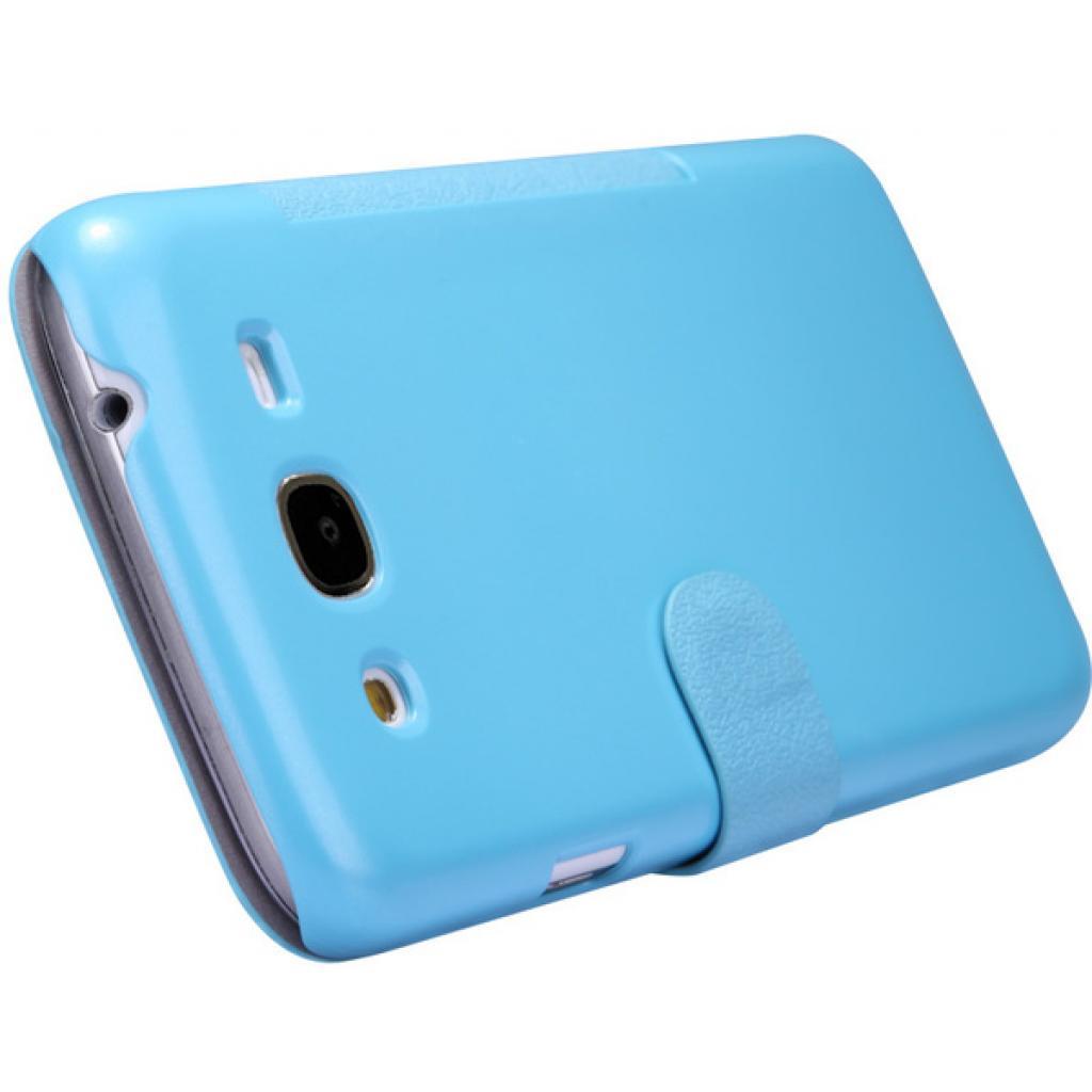 Чехол для моб. телефона NILLKIN для Samsung I9152 /Fresh/ Leather/Blue (6076969) изображение 4