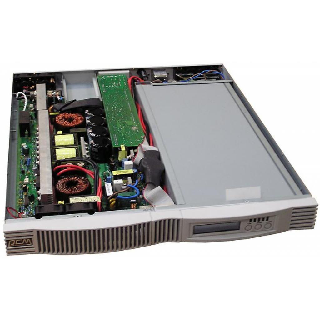 Источник бесперебойного питания Powercom VGD-700-RM (1U) изображение 3
