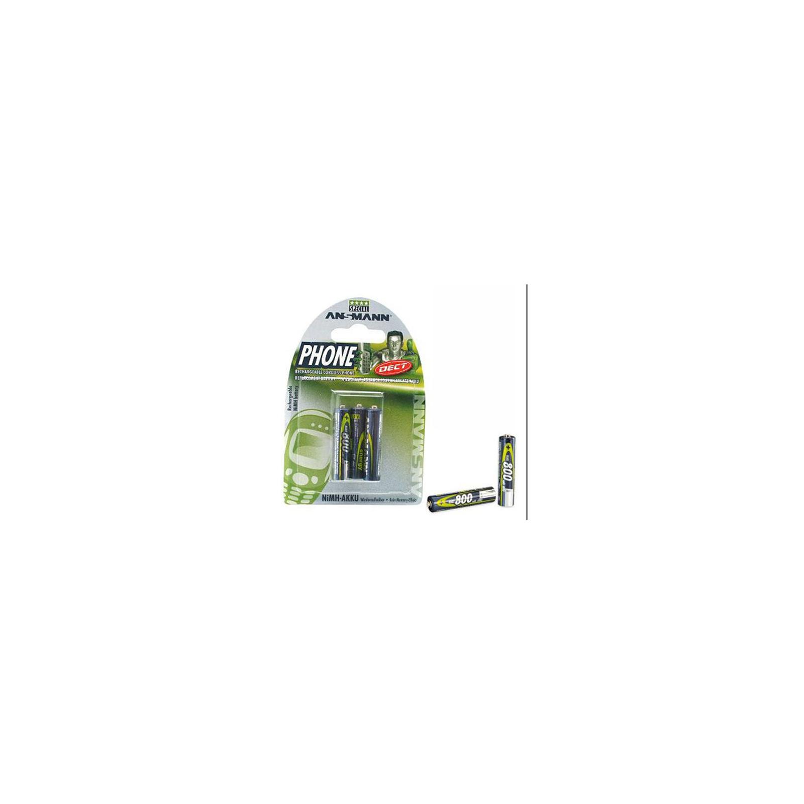 Аккумулятор Ansmann AAA 800 mAh DECT * 3 (5030142)