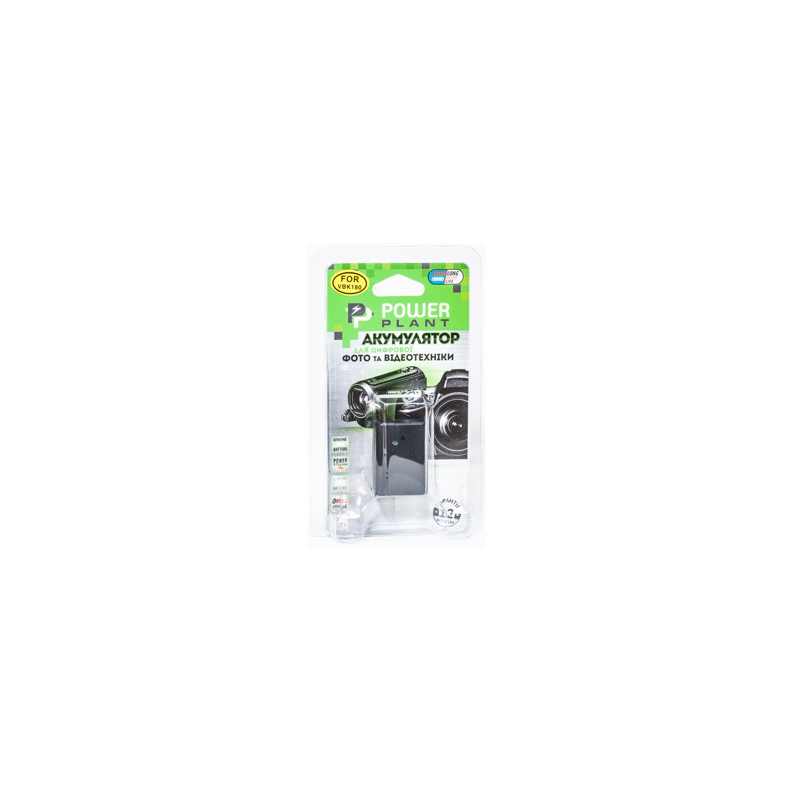 Аккумулятор к фото/видео PowerPlant Panasonic VW-VBY100 (DV00DV1387) изображение 2