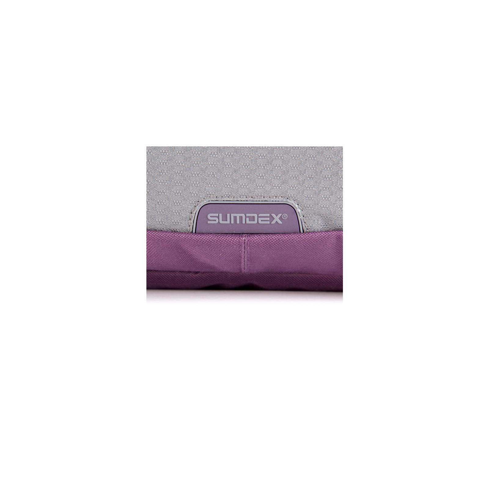 """Сумка для ноутбука Sumdex 16"""" PON-318 RD (PON-318RD) изображение 6"""