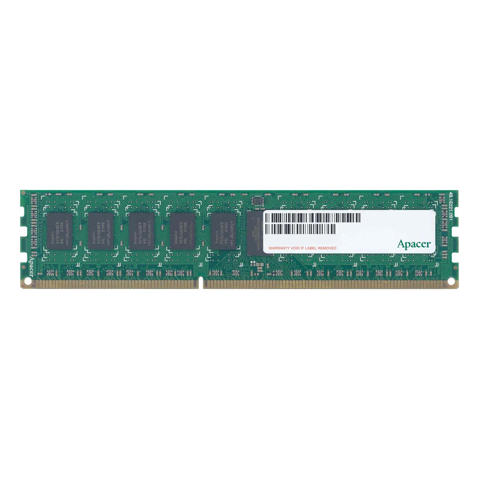 Модуль памяти для сервера DDR3 8GB ECC RDIMM 1600MHz 1Rx4 1.5/1.35V CL11 Apacer (75.CA3EA.G010B/M393B1G70QH0-YK0)