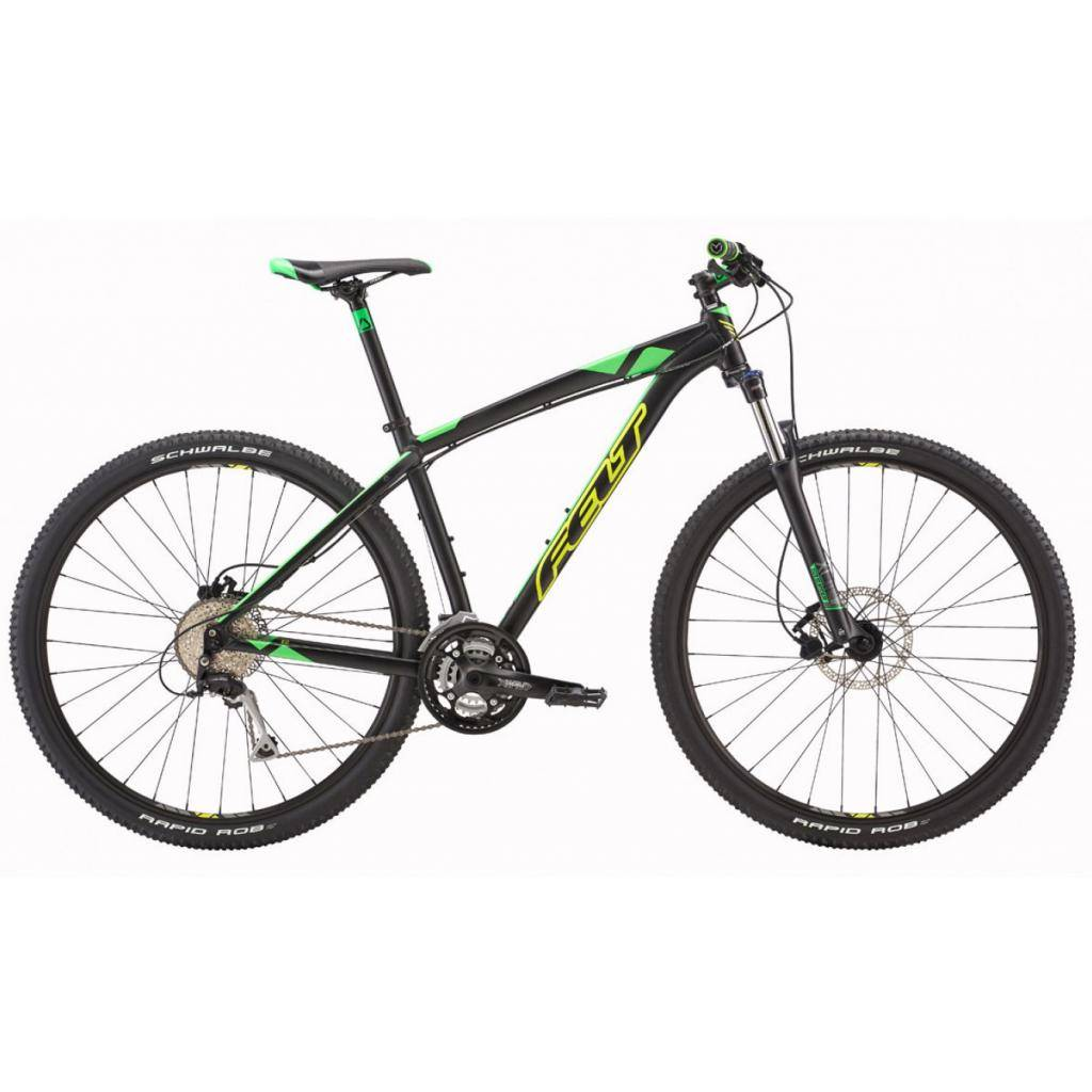 "Велосипед Felt 2016 MTB NINE 70 M matte black 18"" 52cm (8064 66501)"