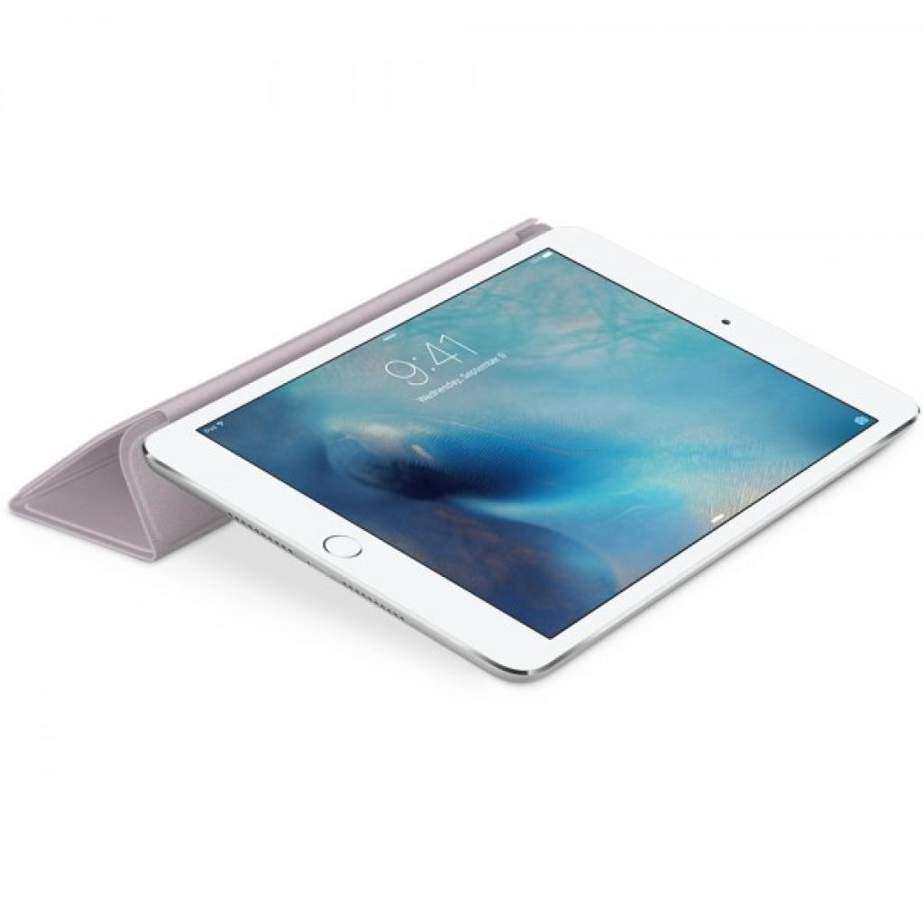 Чехол для планшета Apple Smart Cover для iPad mini 4 Lavander (MKM42ZM/A) изображение 4