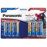 Батарейка PANASONIC AA LR06 Evolta Alkaline Spider Man * 8 (LR6EGE/8B4FSM)