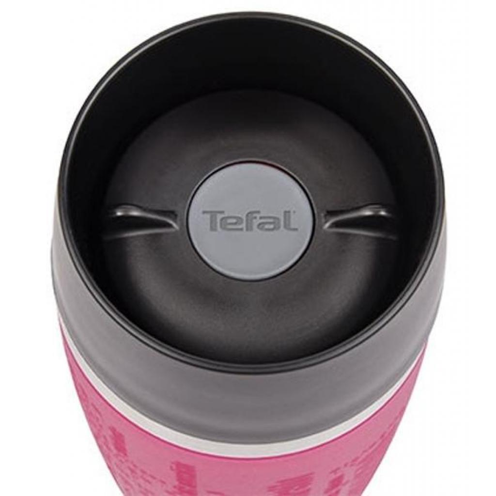 Термокружка Tefal TRAVEL MUG 0.36L raspb/silver (K3087114) изображение 2