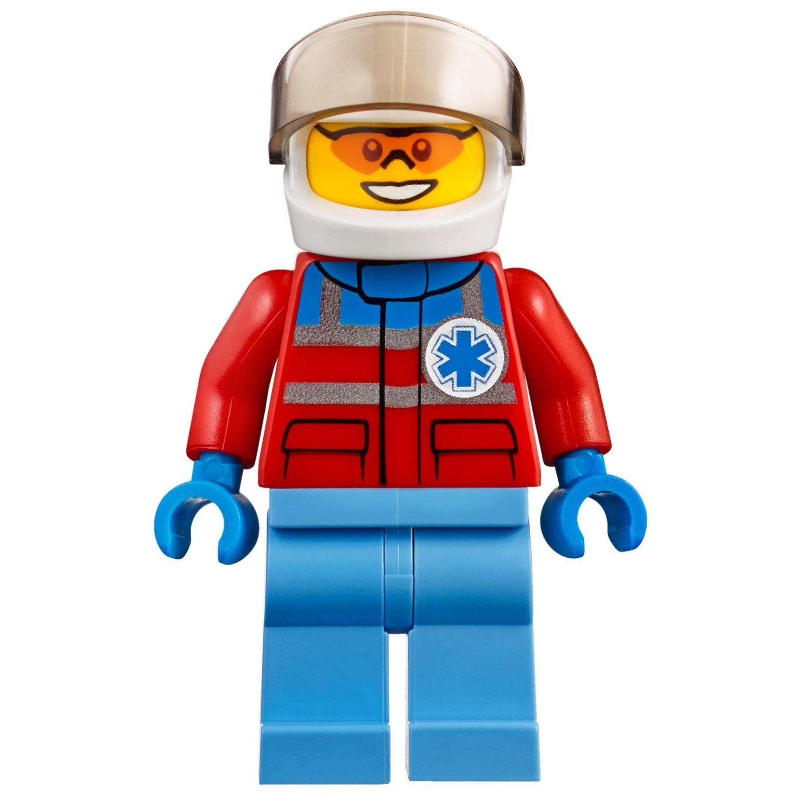 Конструктор LEGO City Вертолет скорой помощи (60179) изображение 10