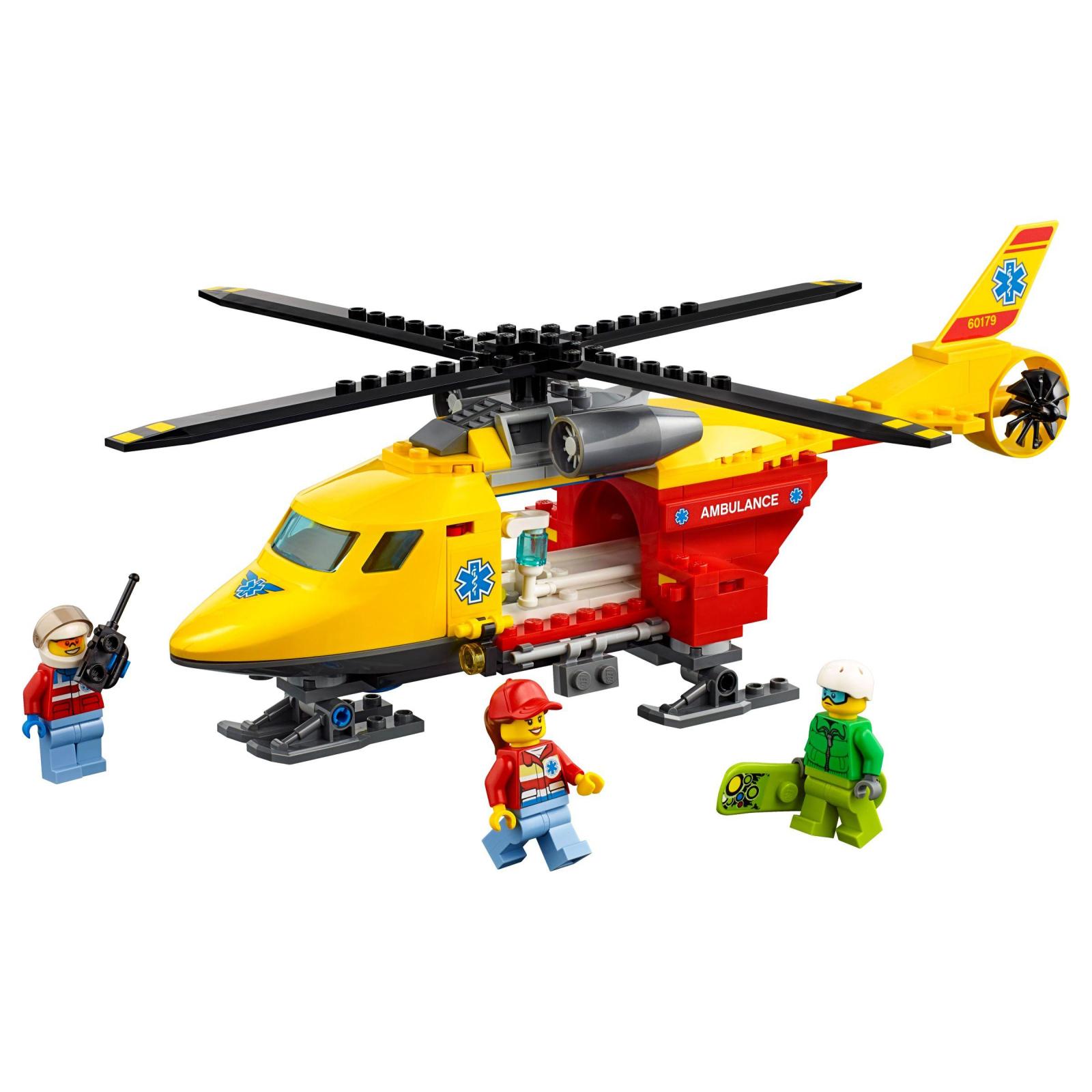 Конструктор LEGO City Вертолет скорой помощи (60179) изображение 2