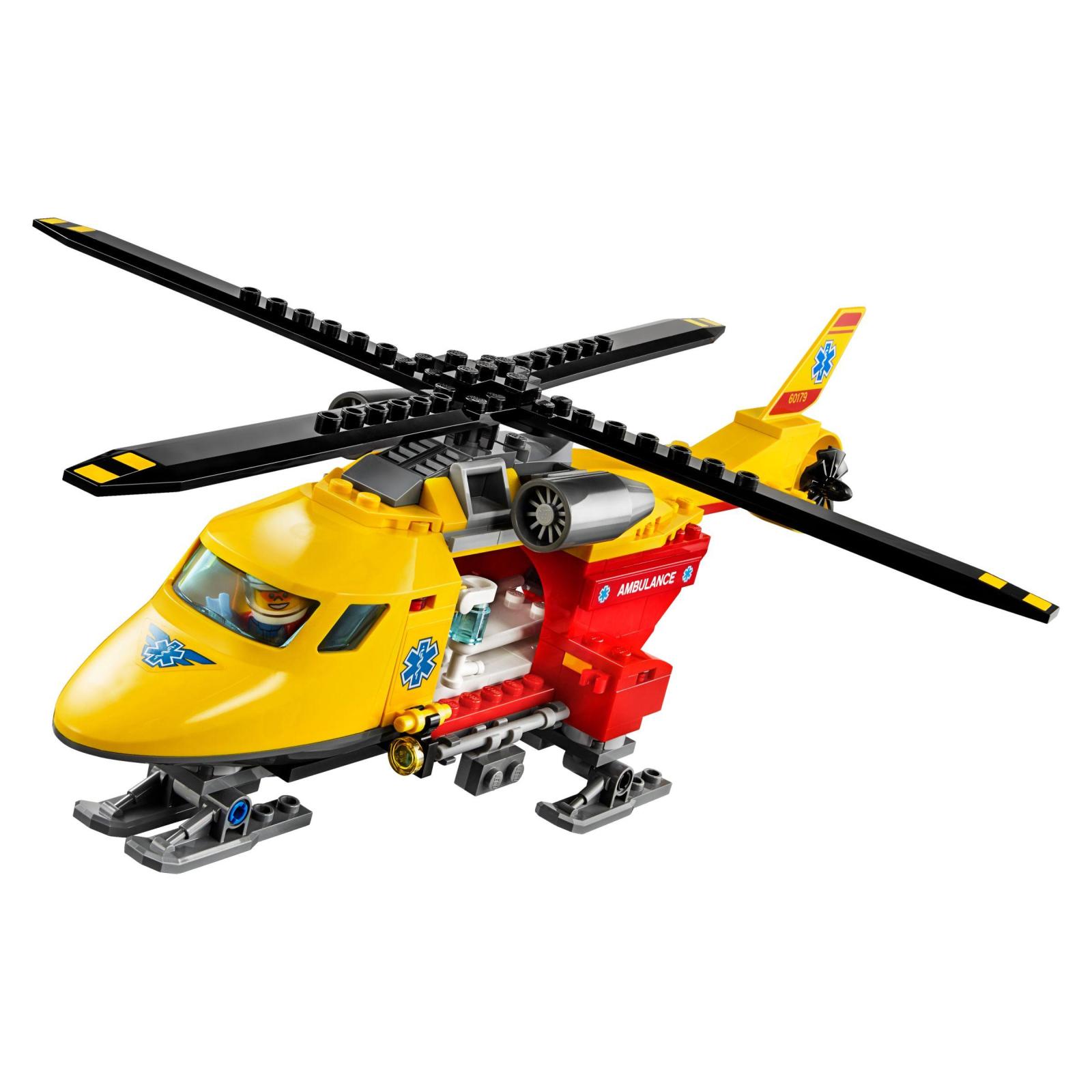 Конструктор LEGO City Вертолет скорой помощи (60179) изображение 3