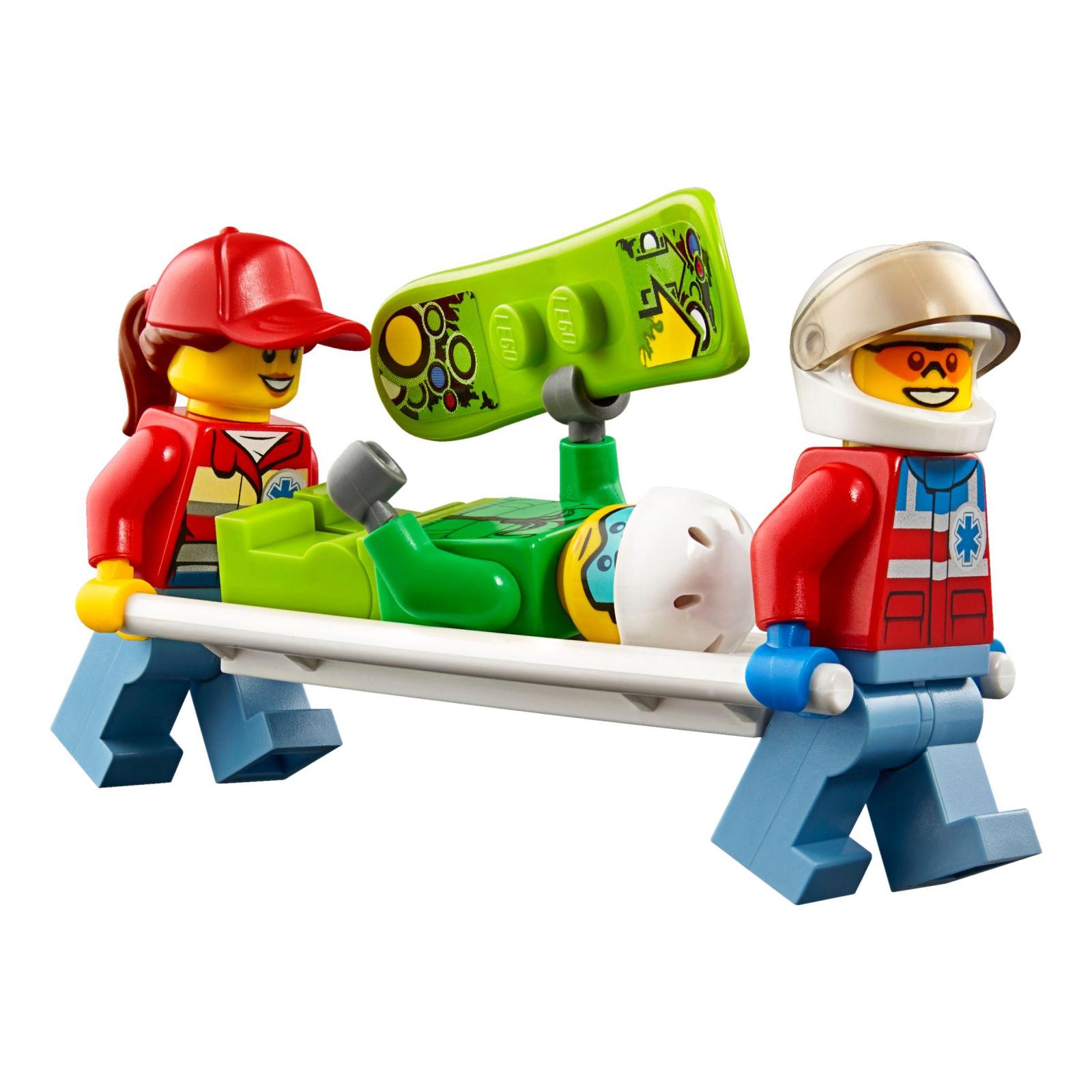 Конструктор LEGO City Вертолет скорой помощи (60179) изображение 7