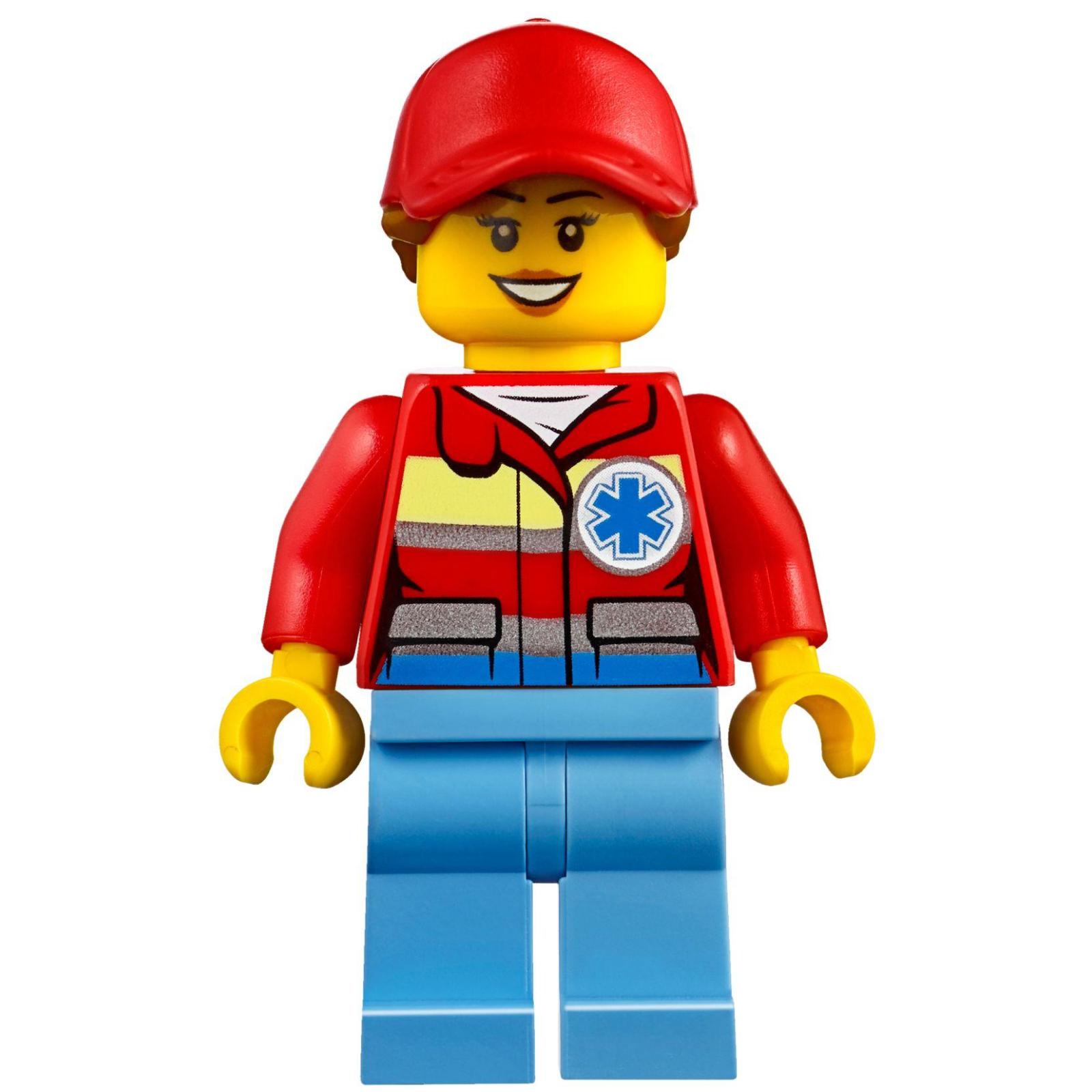 Конструктор LEGO City Вертолет скорой помощи (60179) изображение 9