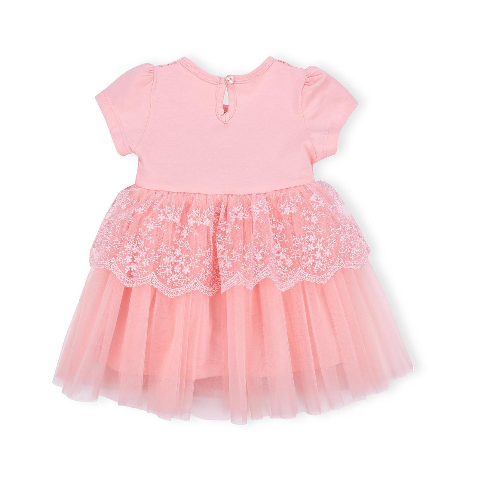 Платье Breeze кружевное с оборками (9011-80G-peach) изображение 2