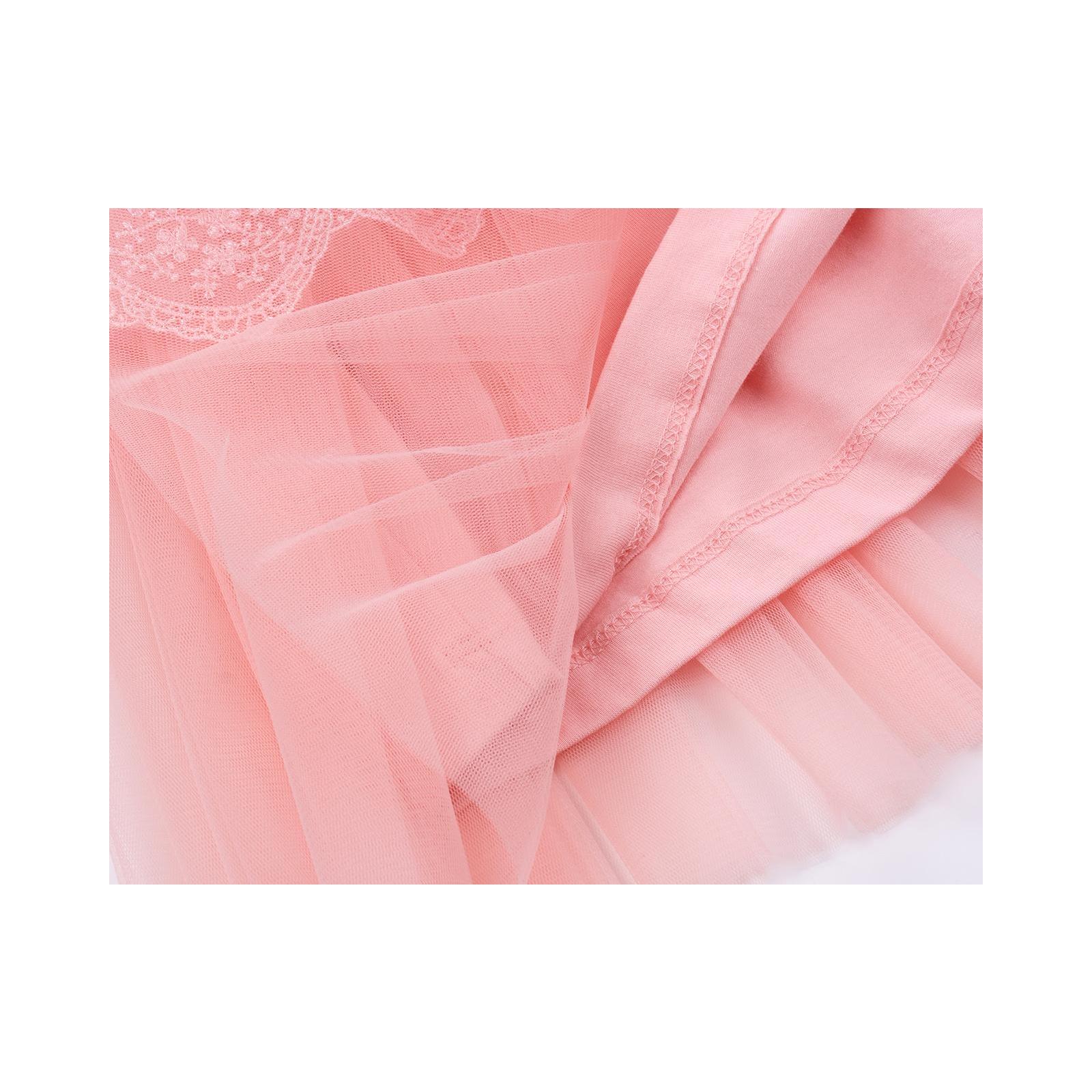 Платье Breeze кружевное с оборками (9011-80G-peach) изображение 5