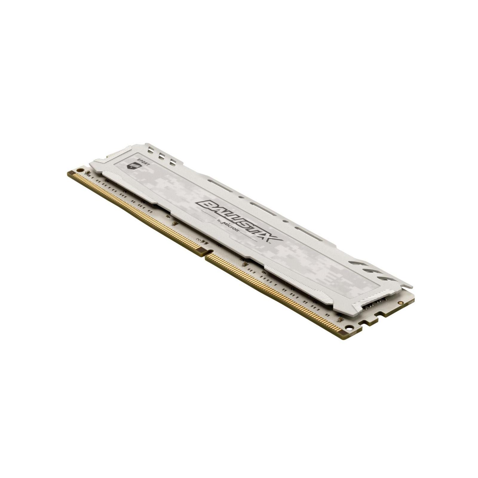 Модуль памяти для компьютера DDR4 16GB (2x8GB) 2666 MHz Ballistix Sport LT Micron (BLS2C8G4D26BFSCK) изображение 3