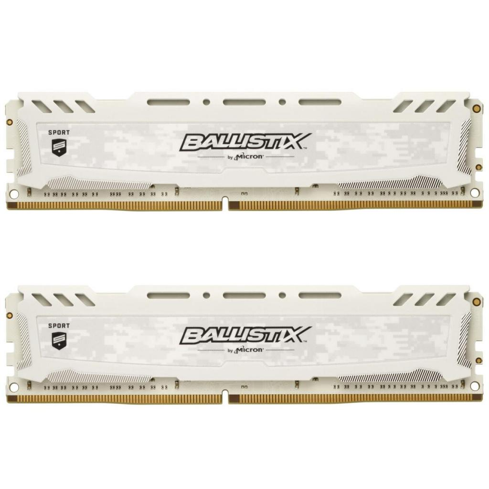 Модуль памяти для компьютера DDR4 16GB (2x8GB) 2666 MHz Ballistix Sport LT Micron (BLS2C8G4D26BFSCK)