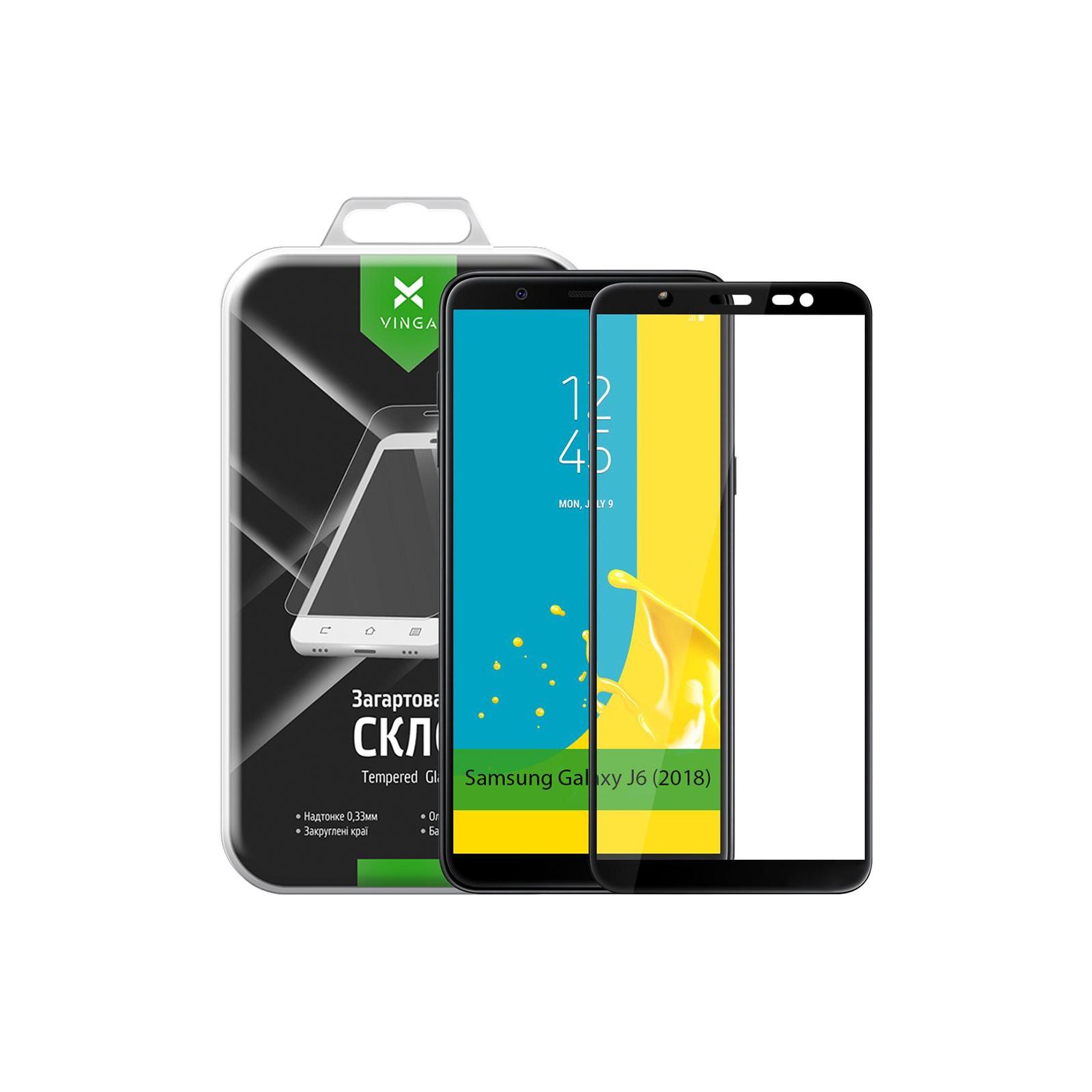 Стекло защитное Vinga для Samsung Galaxy J6 (2018) J600 (VTPGS-J600) изображение 9