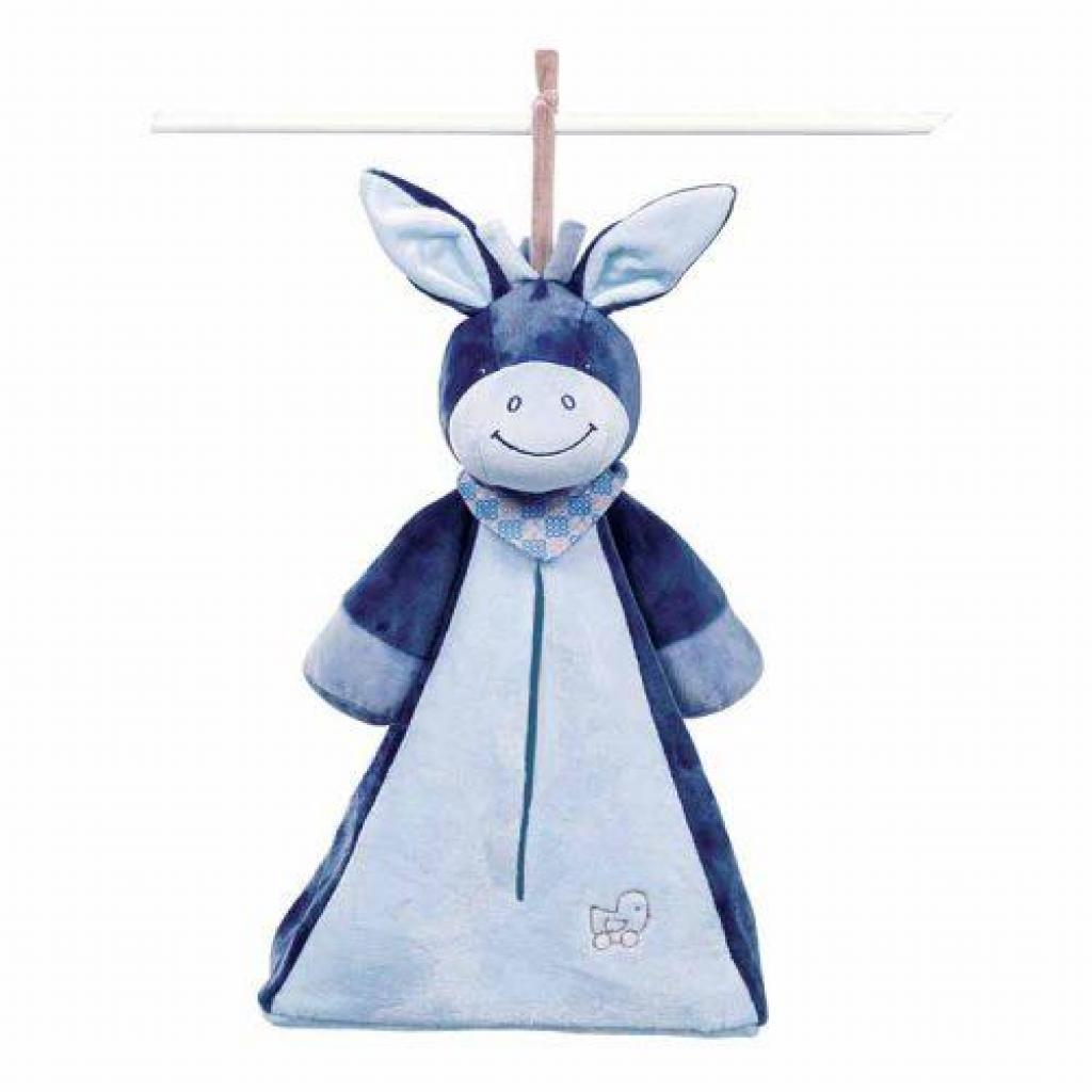 М'яка іграшка Nattou Сумка для подгузников ослик Алекс (321495)