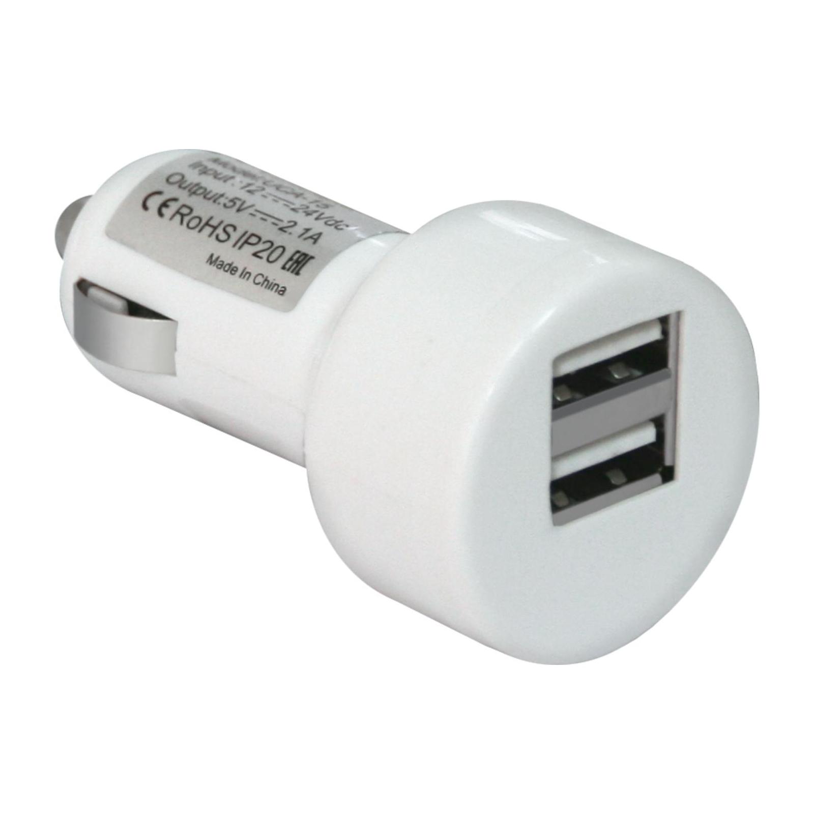 Зарядное устройство Defender UCA-15, 2*USB, 5V/2.1A, White (83562)