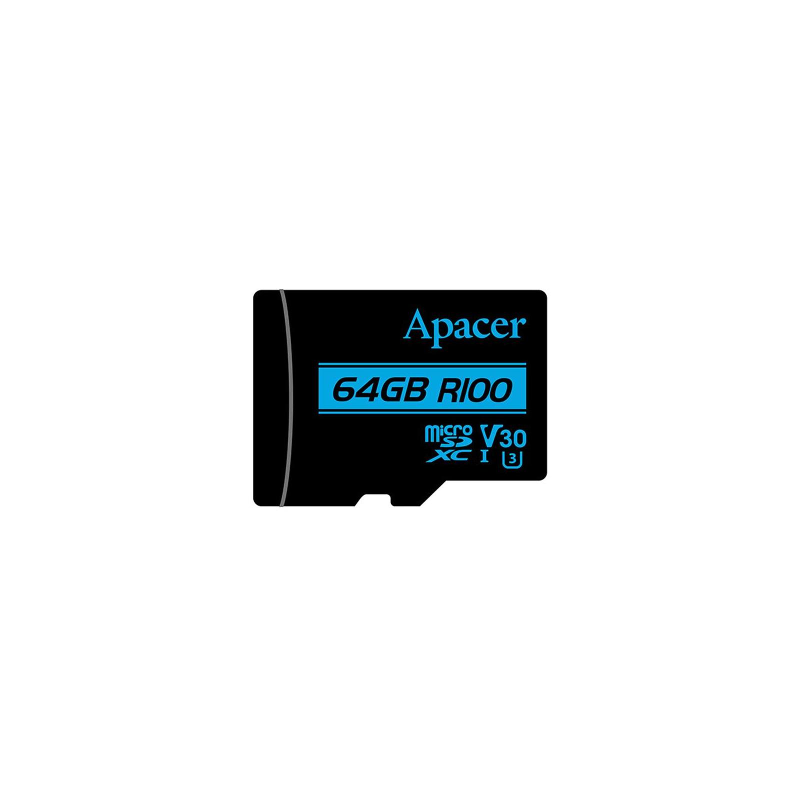 Карта памяти Apacer 128GB microSDHC class 10 UHS-I U1 V10 (AP128GMCSX10U7-R) изображение 2