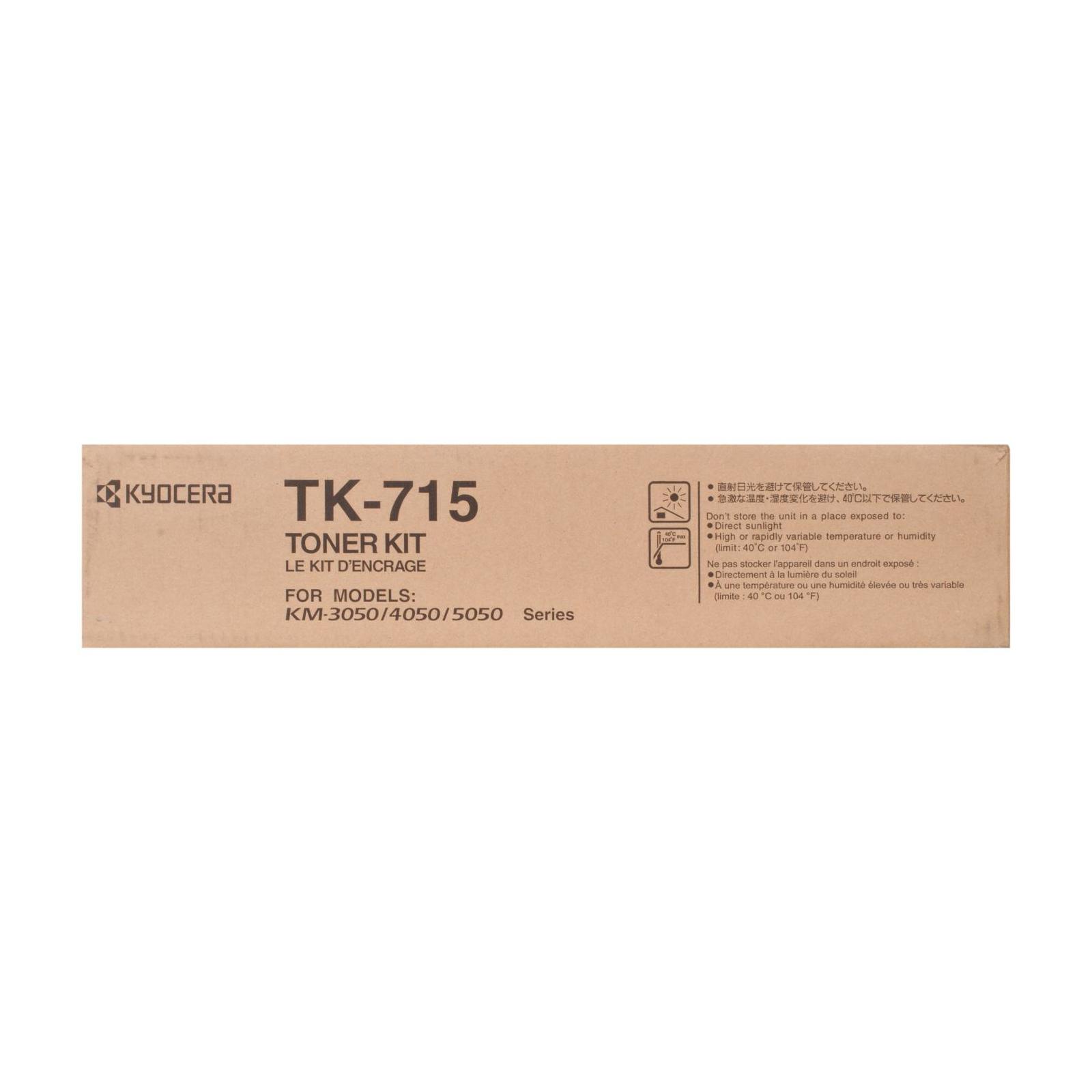 Тонер-картридж Kyocera TK-715 34K (1T02GR0EU0) изображение 5