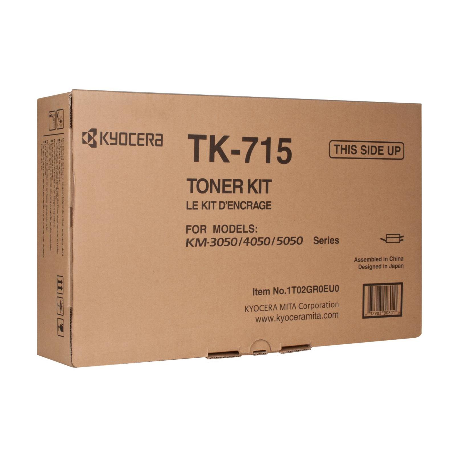 Тонер-картридж Kyocera TK-715 34K (1T02GR0EU0)