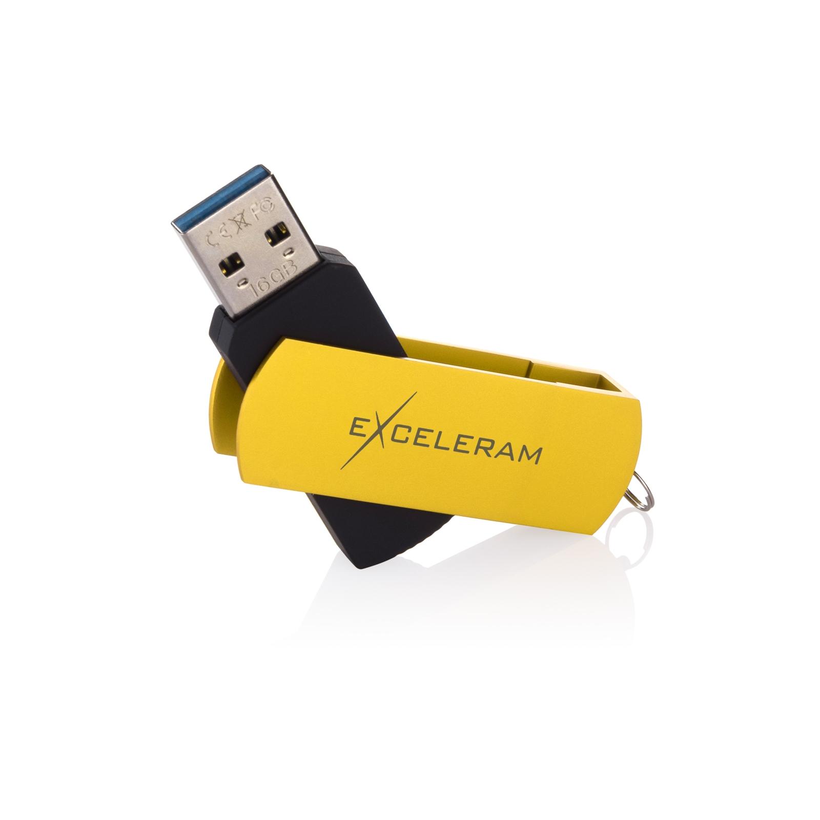 USB флеш накопитель eXceleram 16GB P2 Series Black/Black USB 3.1 Gen 1 (EXP2U3BB16) изображение 3