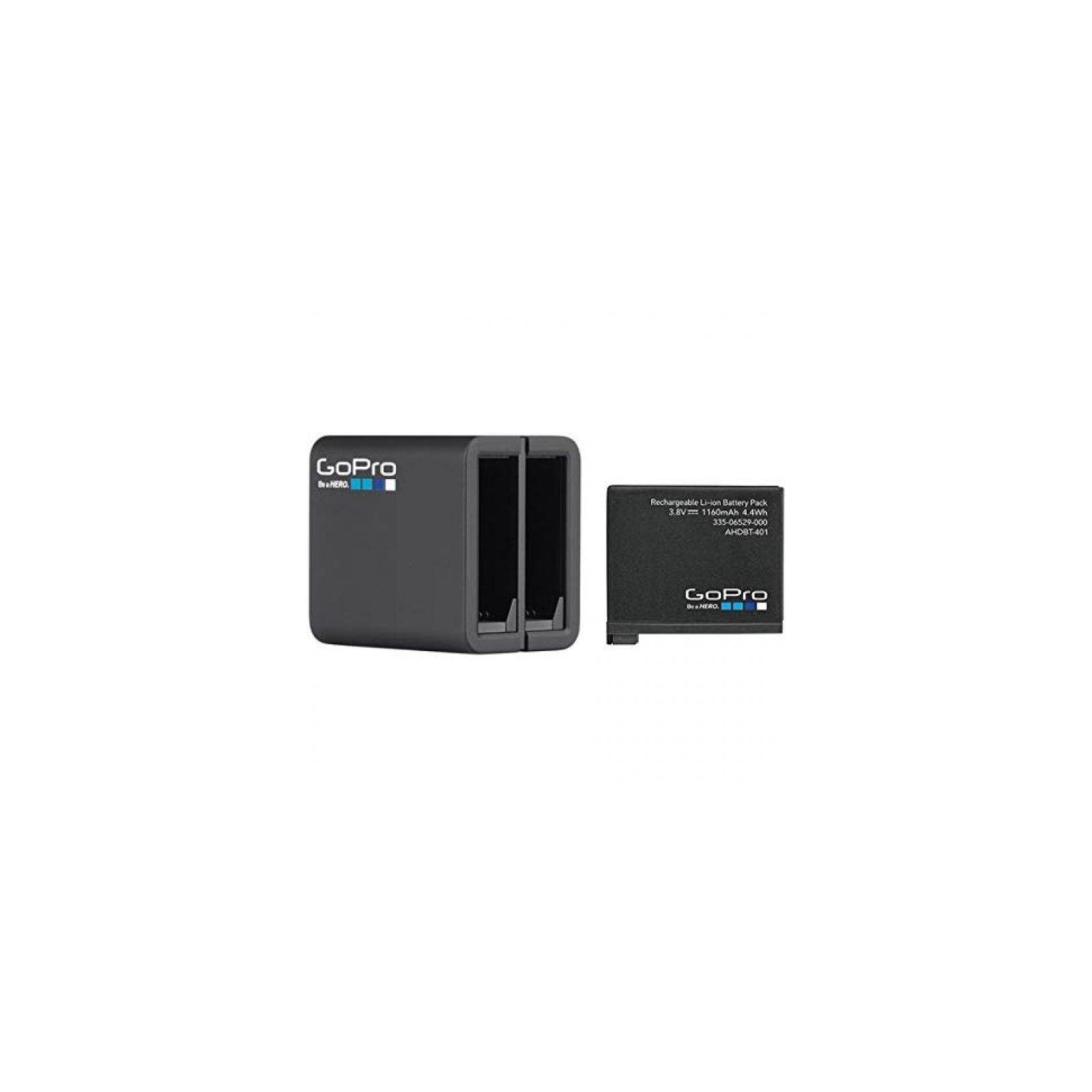 Аксессуар к экшн-камерам GoPro Dual Battery Charger HERO 4 (AHBBP-401)