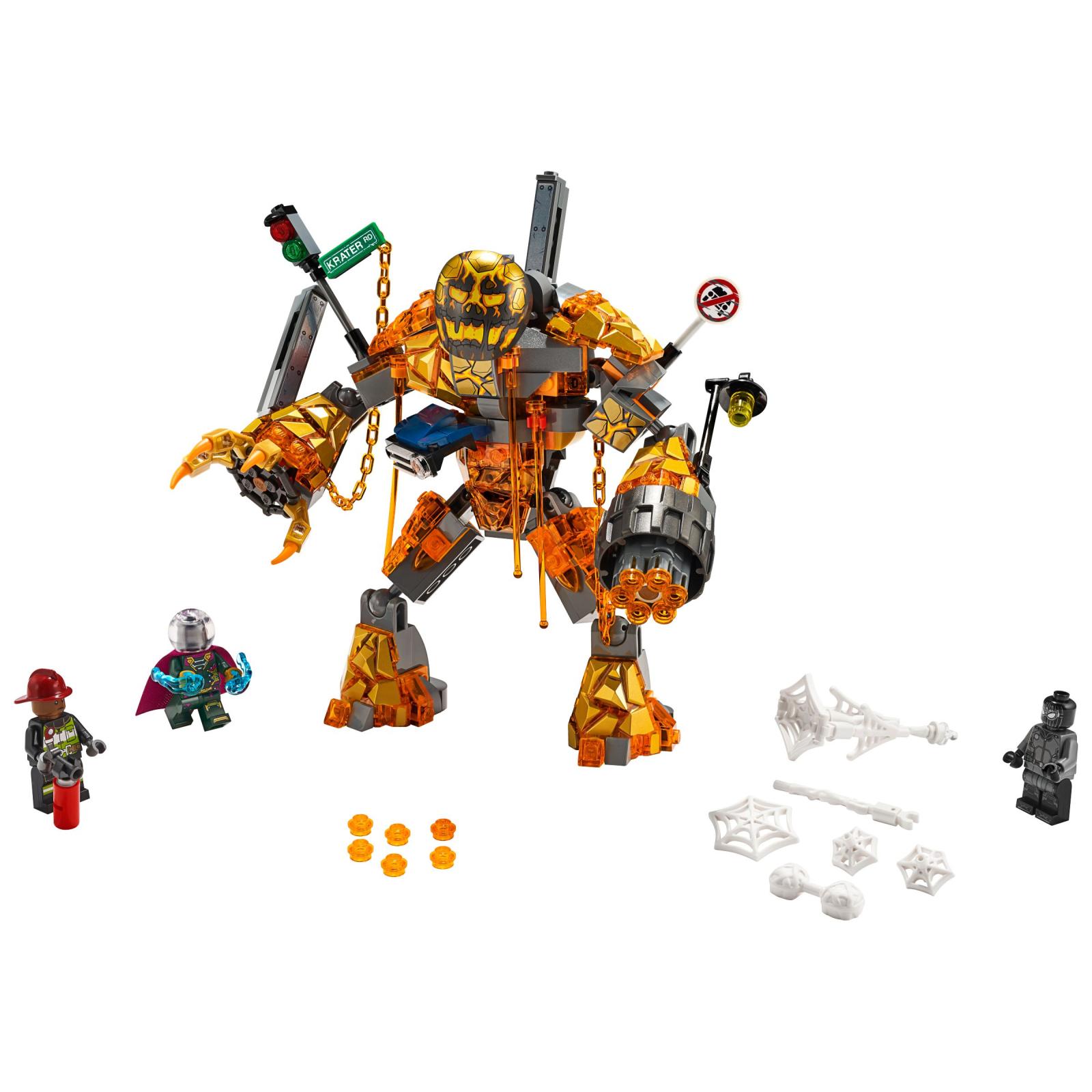 Конструктор LEGO Super Heroes Бой с Расплавленным Человеком 294 деталей (76128) изображение 2