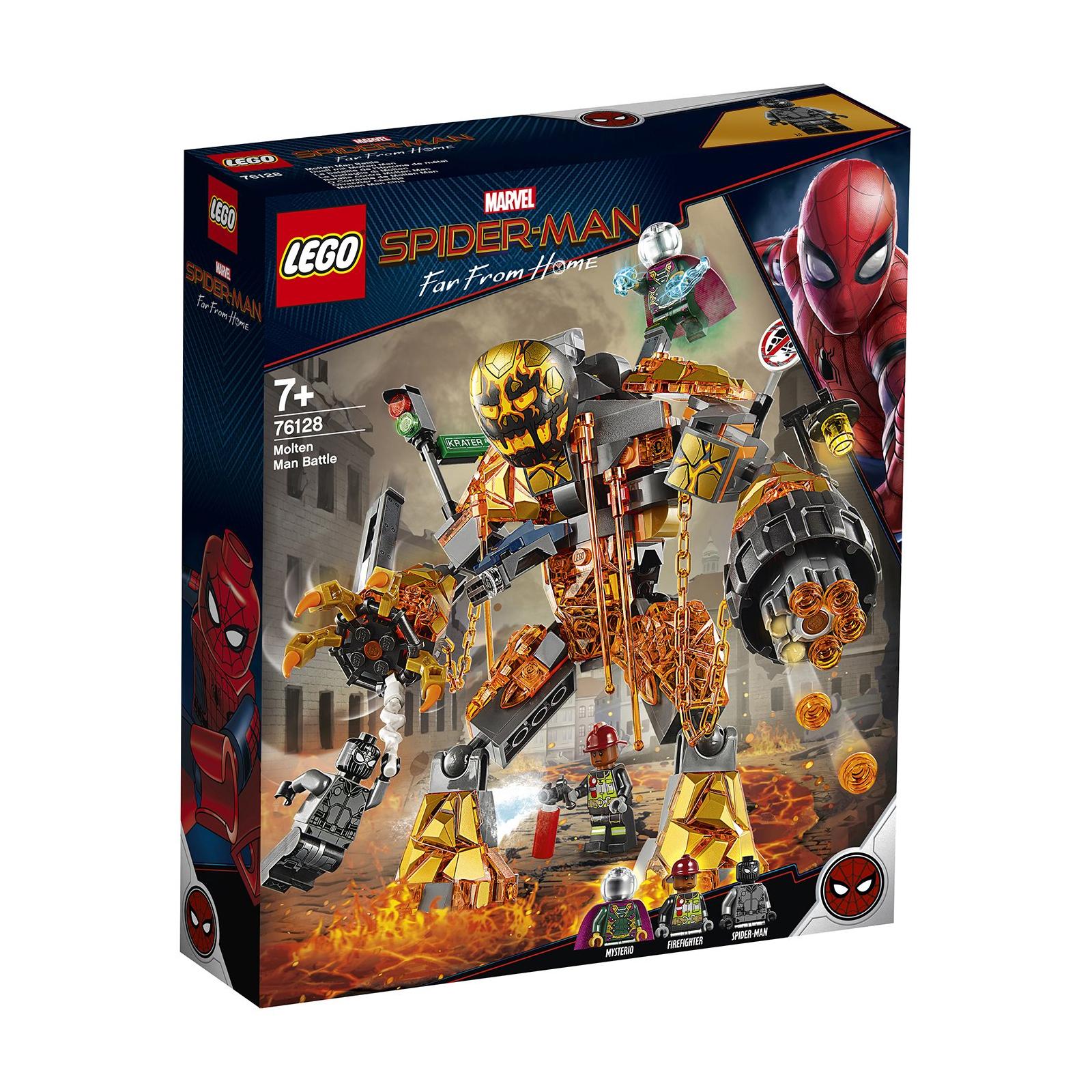 Конструктор LEGO Super Heroes Бой с Расплавленным Человеком 294 деталей (76128)