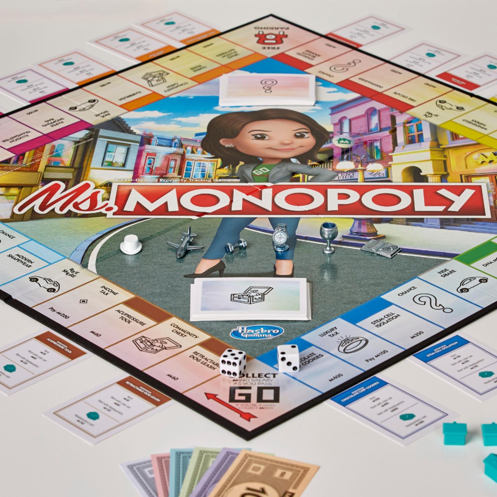 Настольная игра Hasbro Мисс Монополия (E8424) изображение 2
