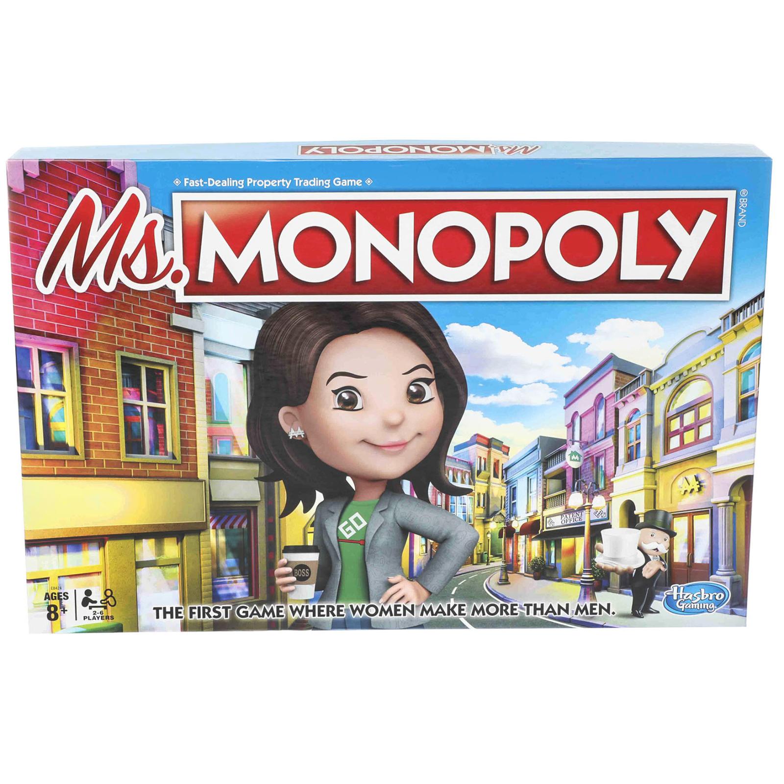 Настольная игра Hasbro Мисс Монополия (E8424) изображение 7