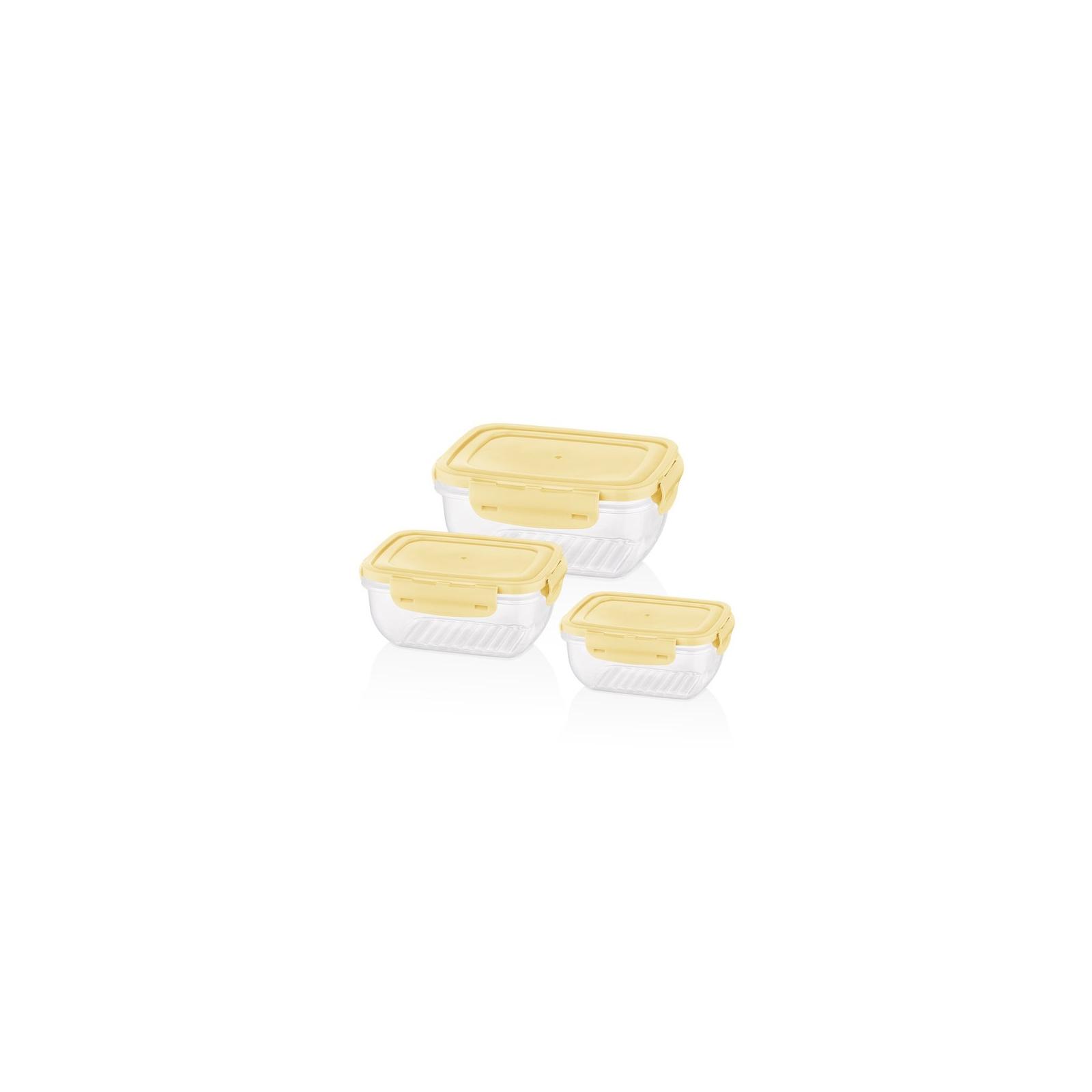 Пищевой контейнер Bager Cook&Lock 3 шт 0.8, 1.4, 2.3 л (BG-526) изображение 4