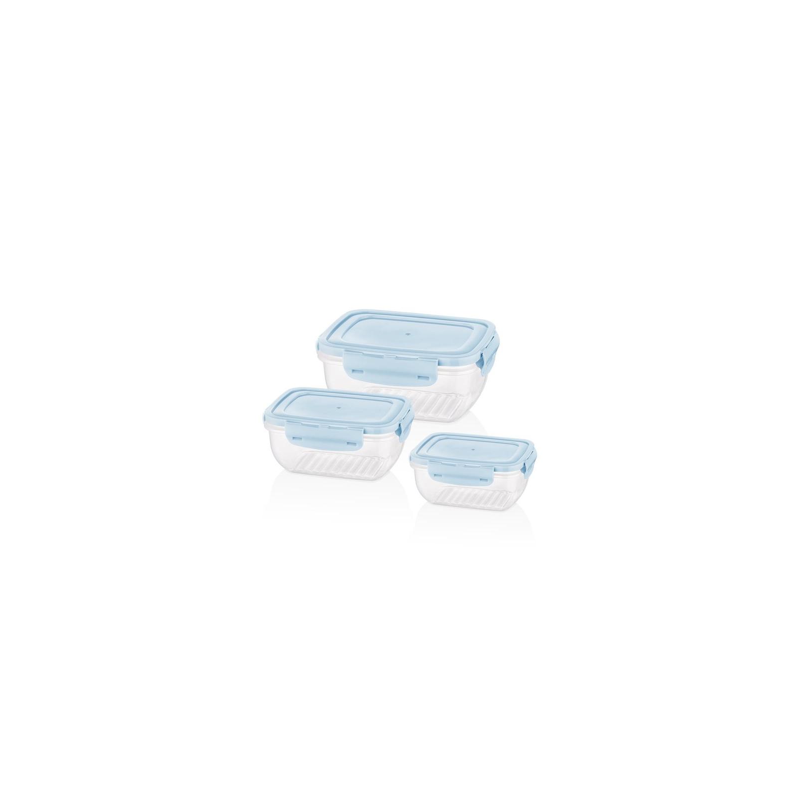 Пищевой контейнер Bager Cook&Lock 3 шт 0.8, 1.4, 2.3 л (BG-526)