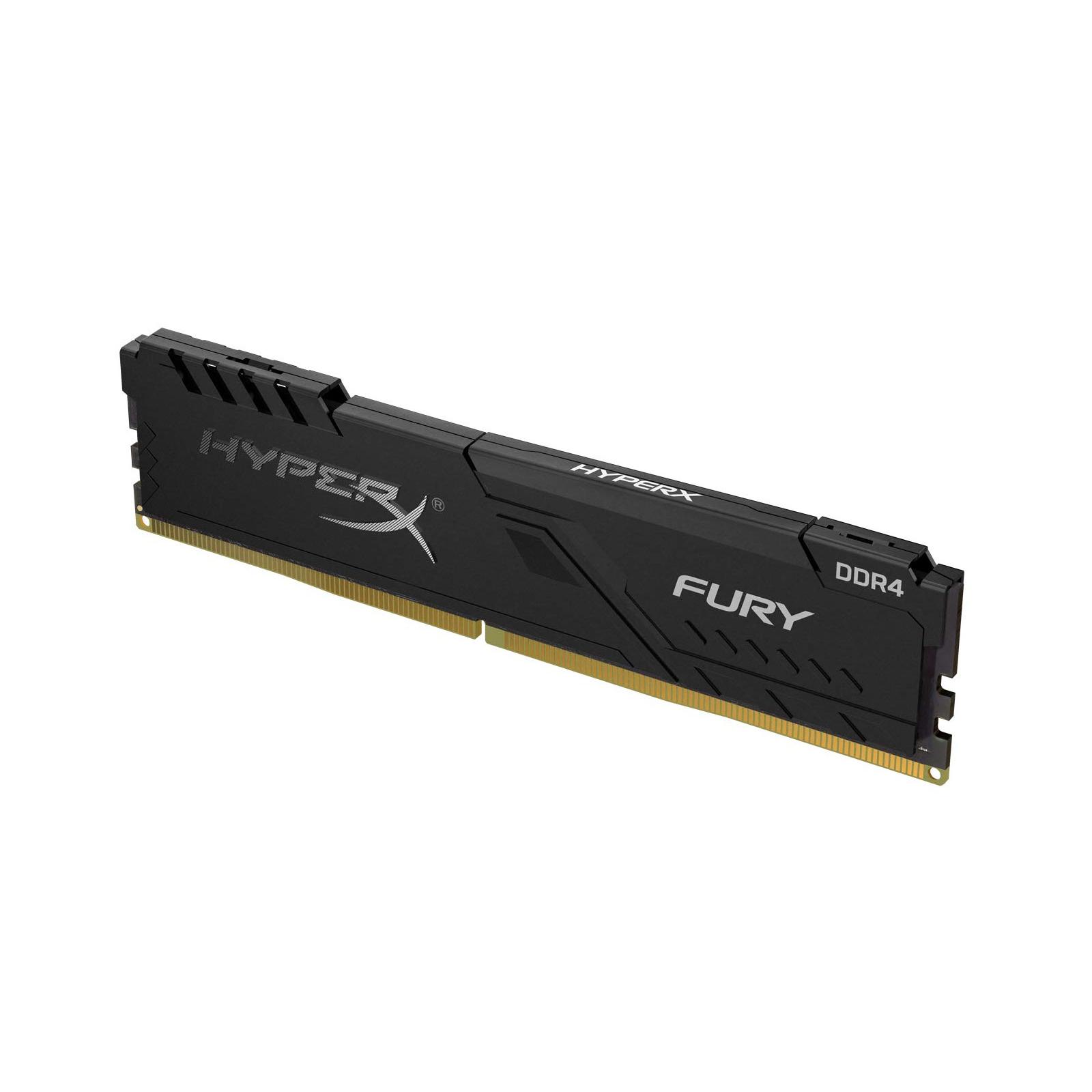 Модуль пам'яті для комп'ютера DDR4 8GB 3733 MHz HyperX Fury Black Kingston (HX437C19FB3/8) зображення 2