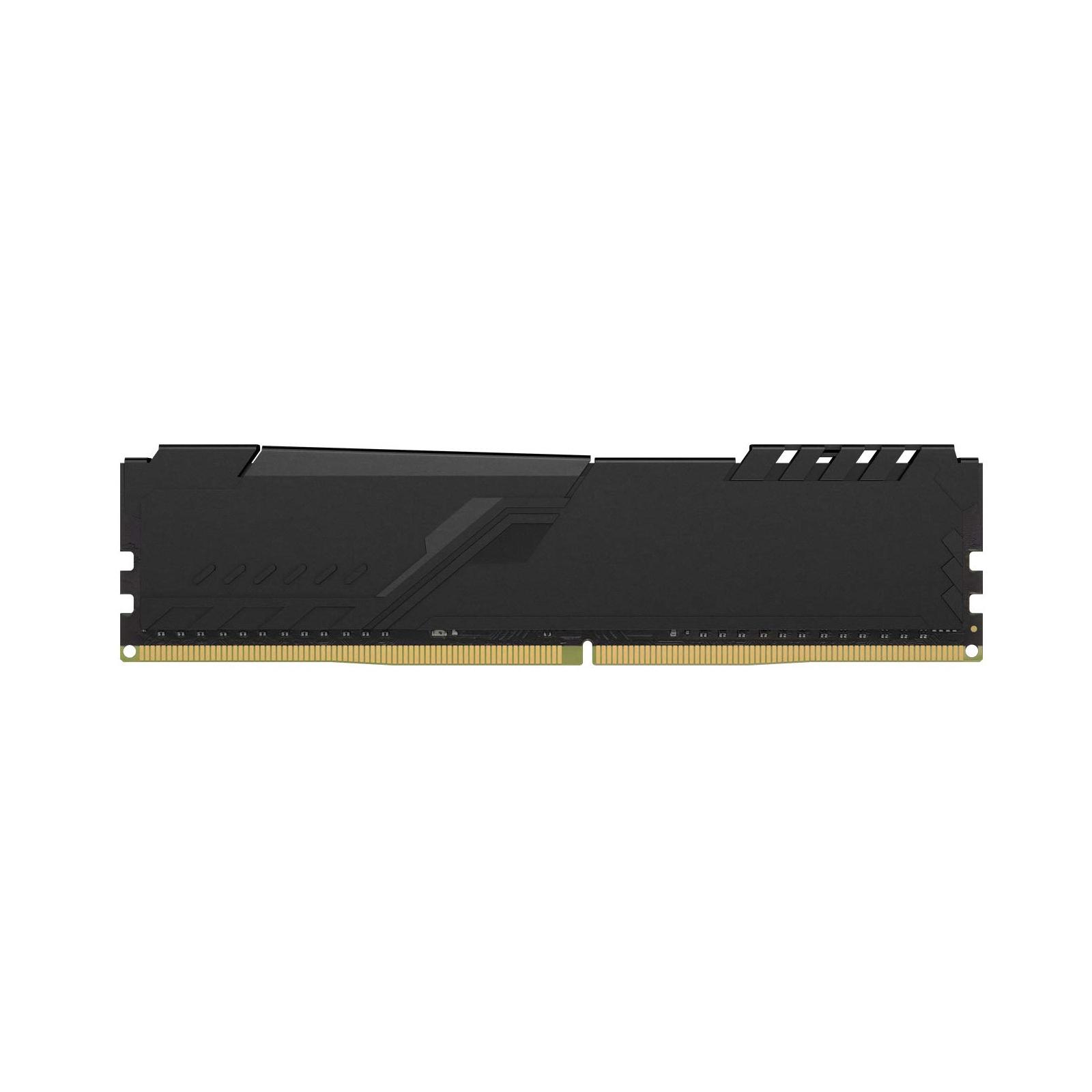 Модуль пам'яті для комп'ютера DDR4 8GB 3733 MHz HyperX Fury Black Kingston (HX437C19FB3/8) зображення 4