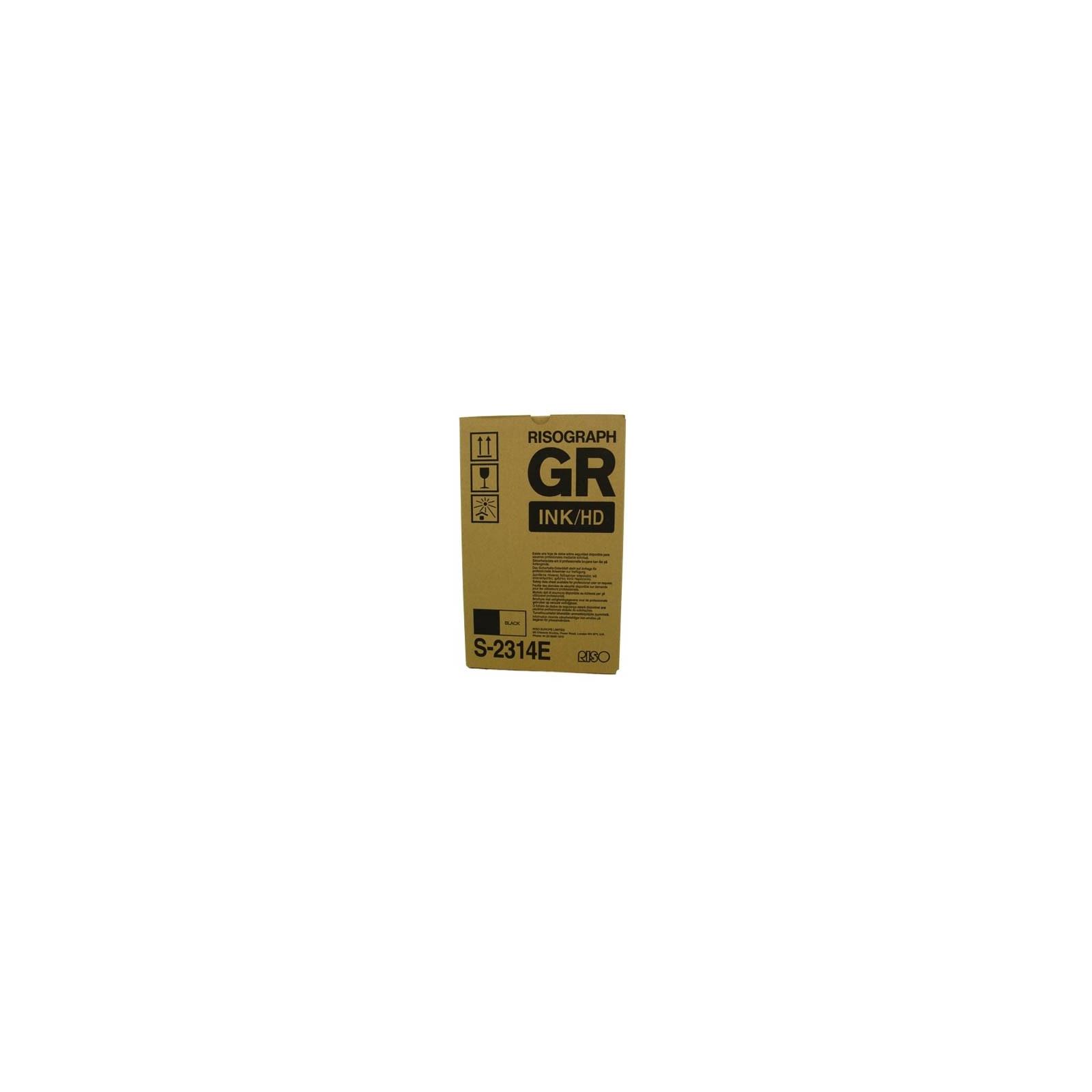 Краска RISO HD GR black (для GR-3770) 25К (S-2314E)