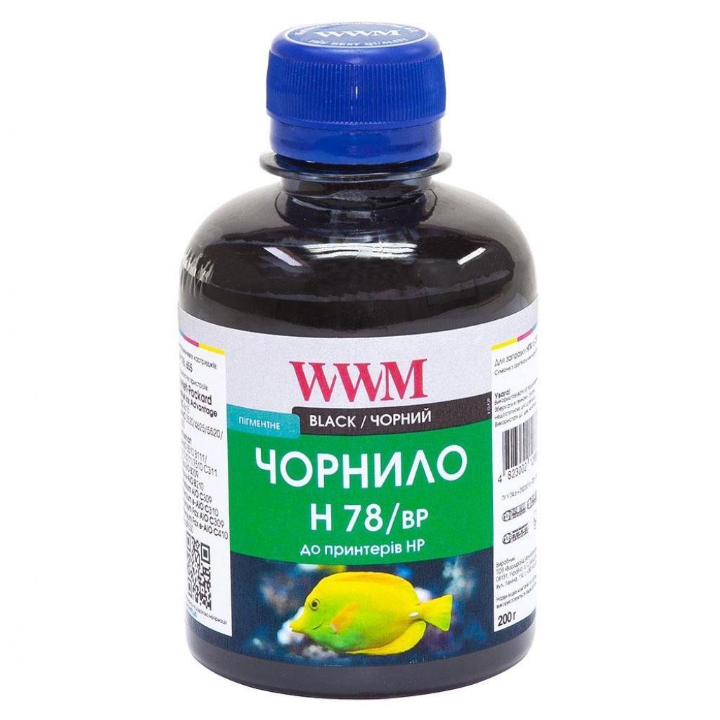 Чернила WWM HP №178 Black Pigmented (H78/BP)
