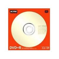 Диск DVD-R ACME 4.7Gb 16x Paper sleeve 1шт (4770070855904)