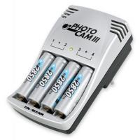 Зарядний пристрій для акумуляторів PhotoCam III + 4*AA 2850mAh Ansmann (5007093)