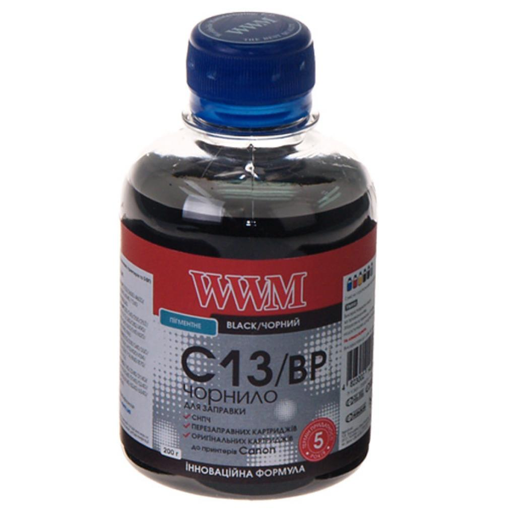 Чернила WWM CANON PG510/512/PGI520/425 Black Pigment (C13/BP)