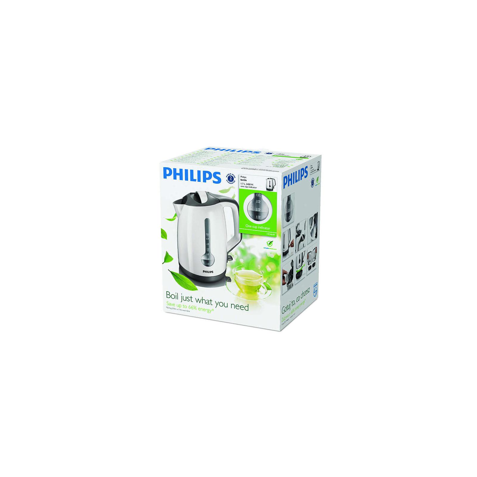 Электрочайник PHILIPS HD 4649/00 (HD4649/00) изображение 2