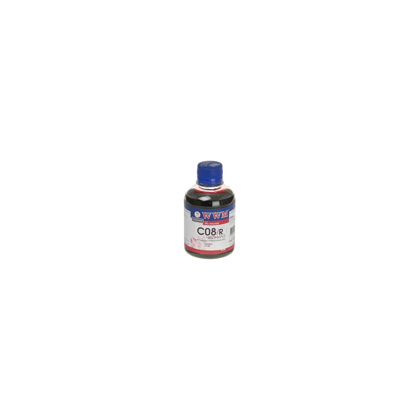Чернила WWM CANON CLI-8Red (C08/R)