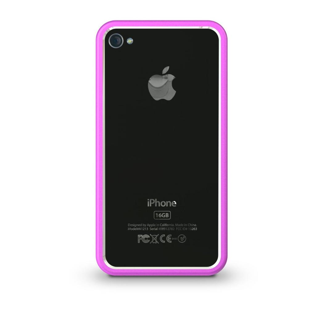 Чехол для моб. телефона XtremeMac для Apple iPhone 4 Thin Border Pink (IPP BO5-33)