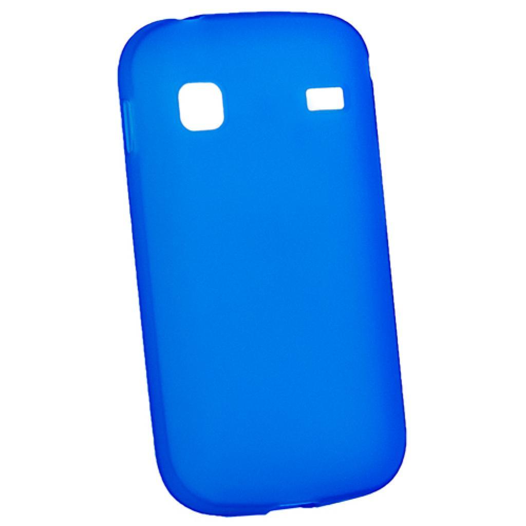 Чехол для моб. телефона Mobiking Nokia 206 Asha Blue/Silicon (23753)