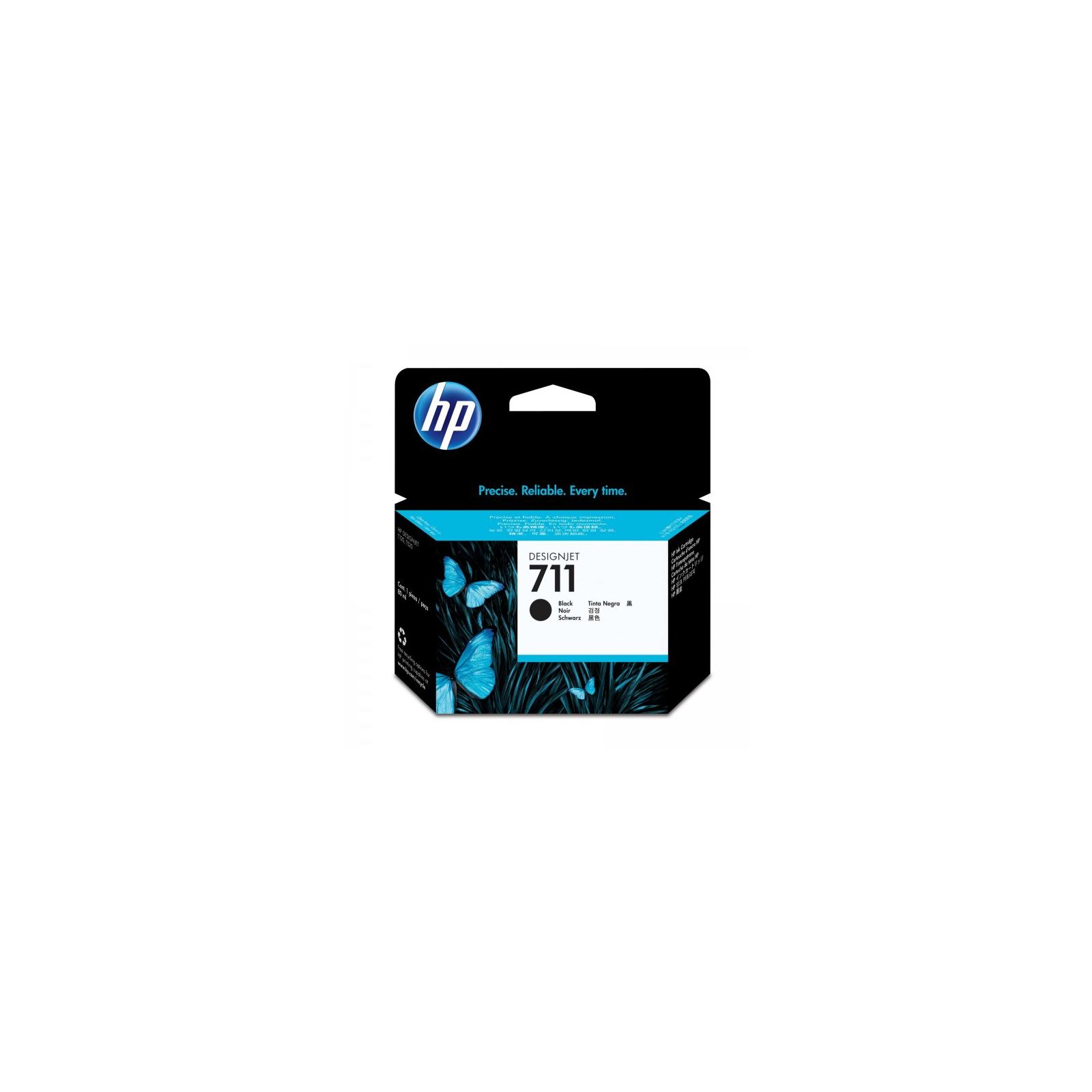 Картридж HP DJ No.711 DesignJet 120/520 Black 80ml (CZ133A)