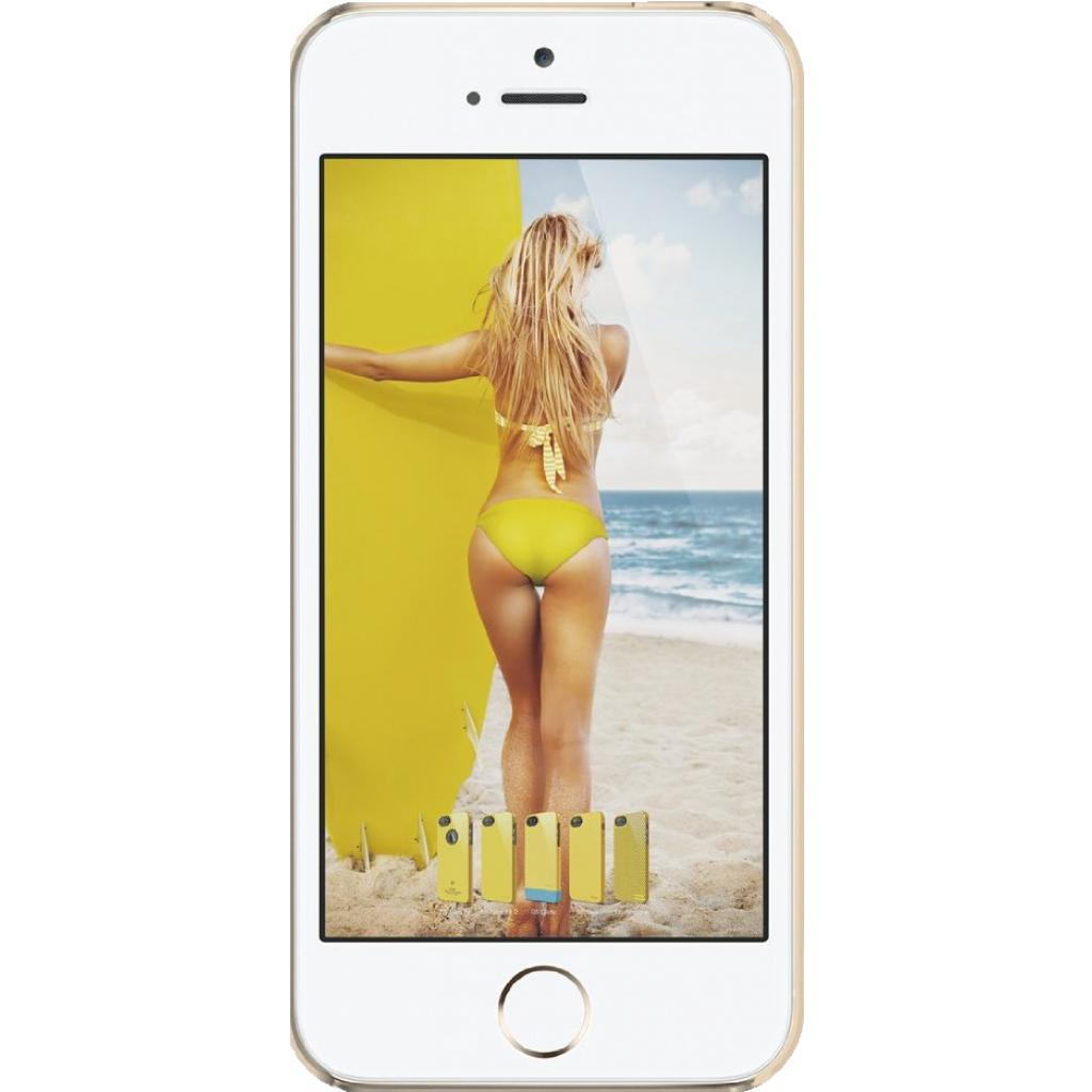 Чехол для моб. телефона ELAGO для iPhone 5C /Outfit MATRIX Aluminum/Gold (ES5COFMX-GDGD-RT) изображение 2