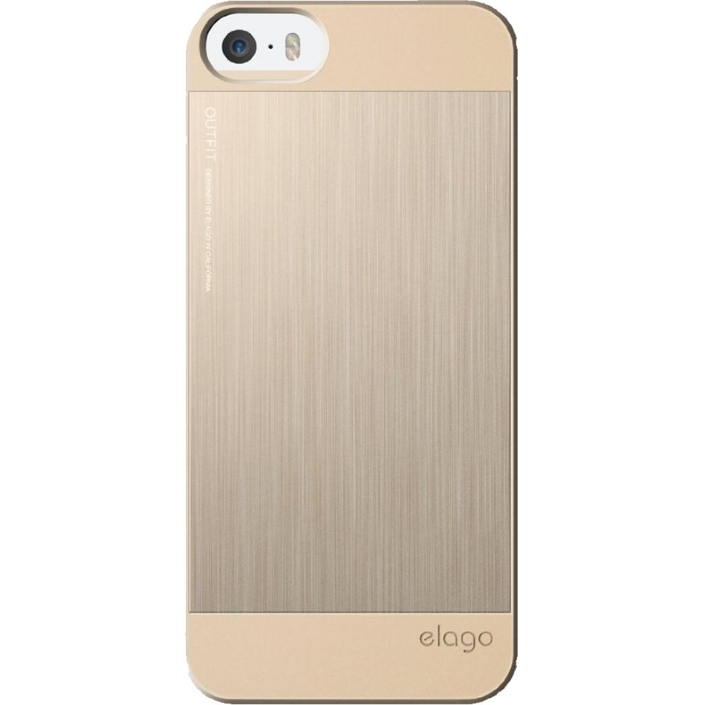 Чехол для моб. телефона ELAGO для iPhone 5C /Outfit MATRIX Aluminum/Gold (ES5COFMX-GDGD-RT) изображение 3