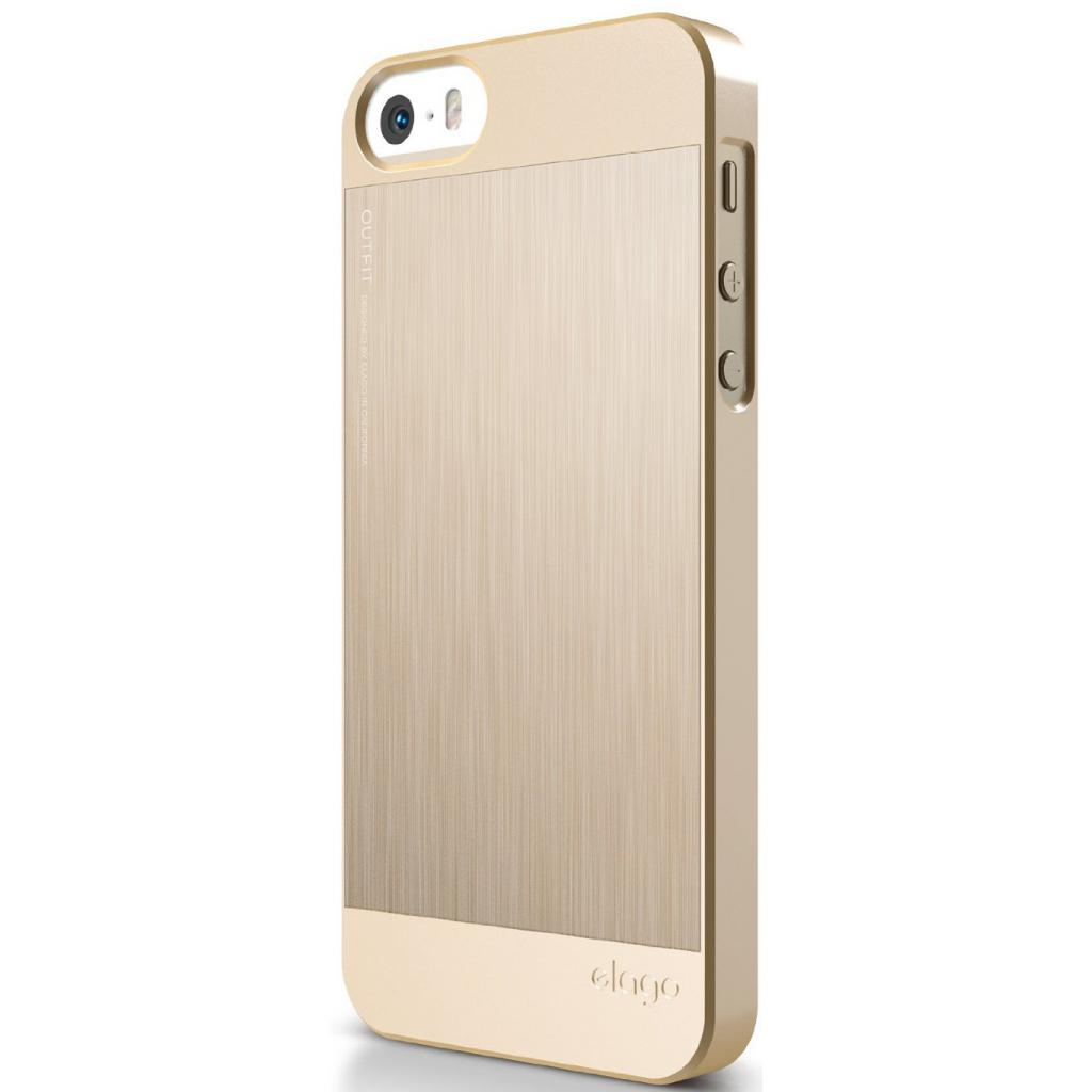 Чехол для моб. телефона ELAGO для iPhone 5C /Outfit MATRIX Aluminum/Gold (ES5COFMX-GDGD-RT) изображение 6